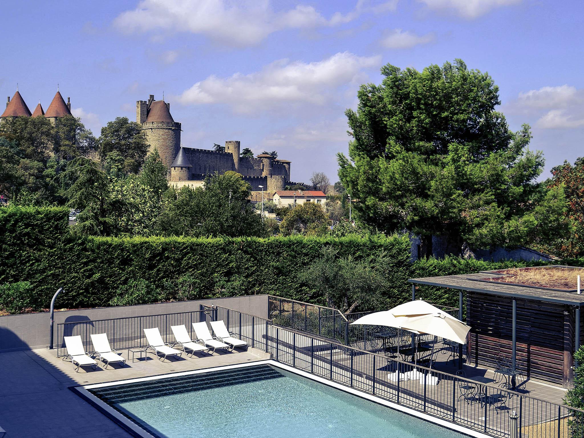 โรงแรม – Hôtel Mercure Carcassonne La Cité