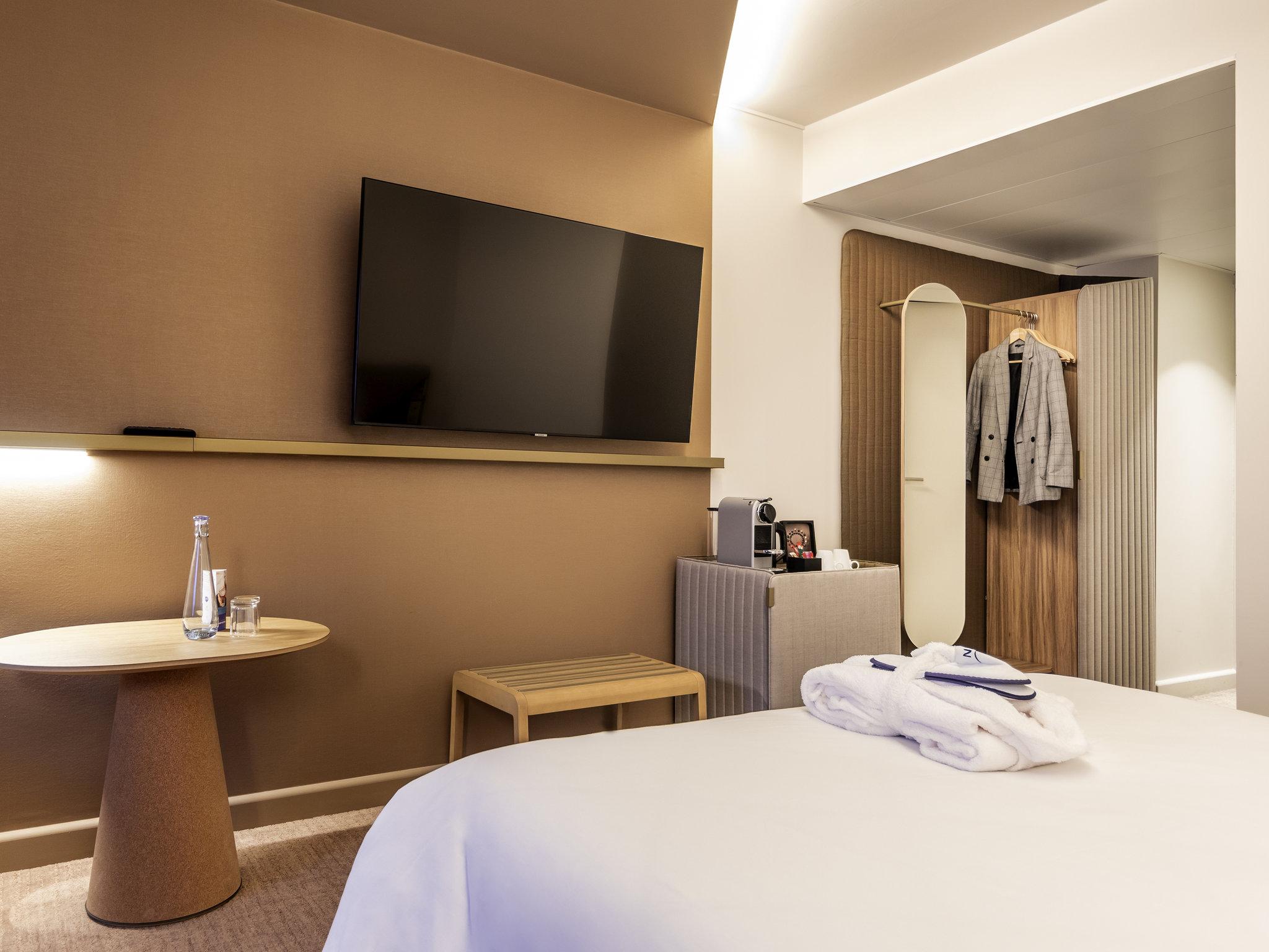 酒店 – 巴黎奥利朗吉诺富特酒店
