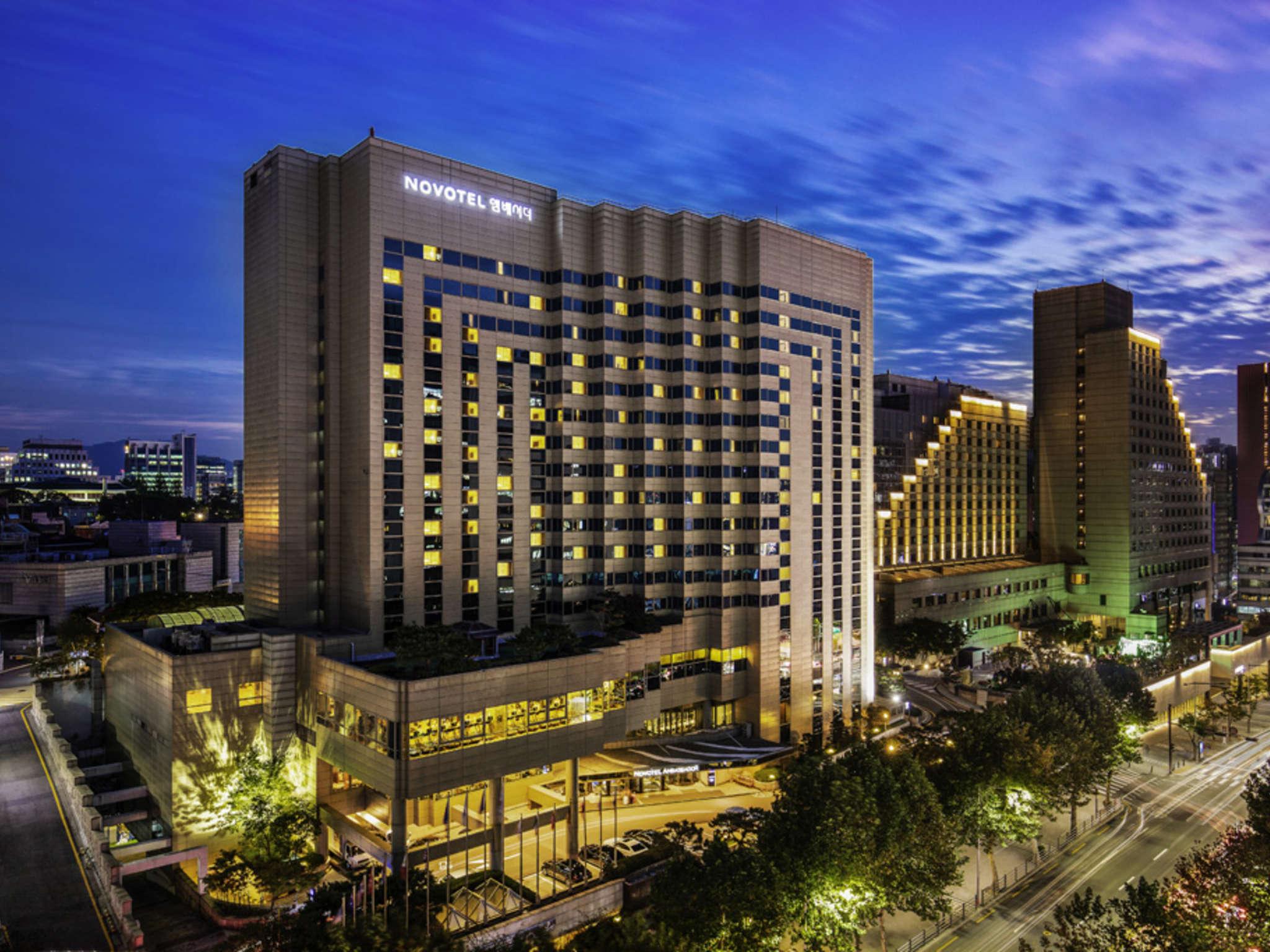 โรงแรม – โนโวเทล แอมบาสเดอร์ โซล กังนัม