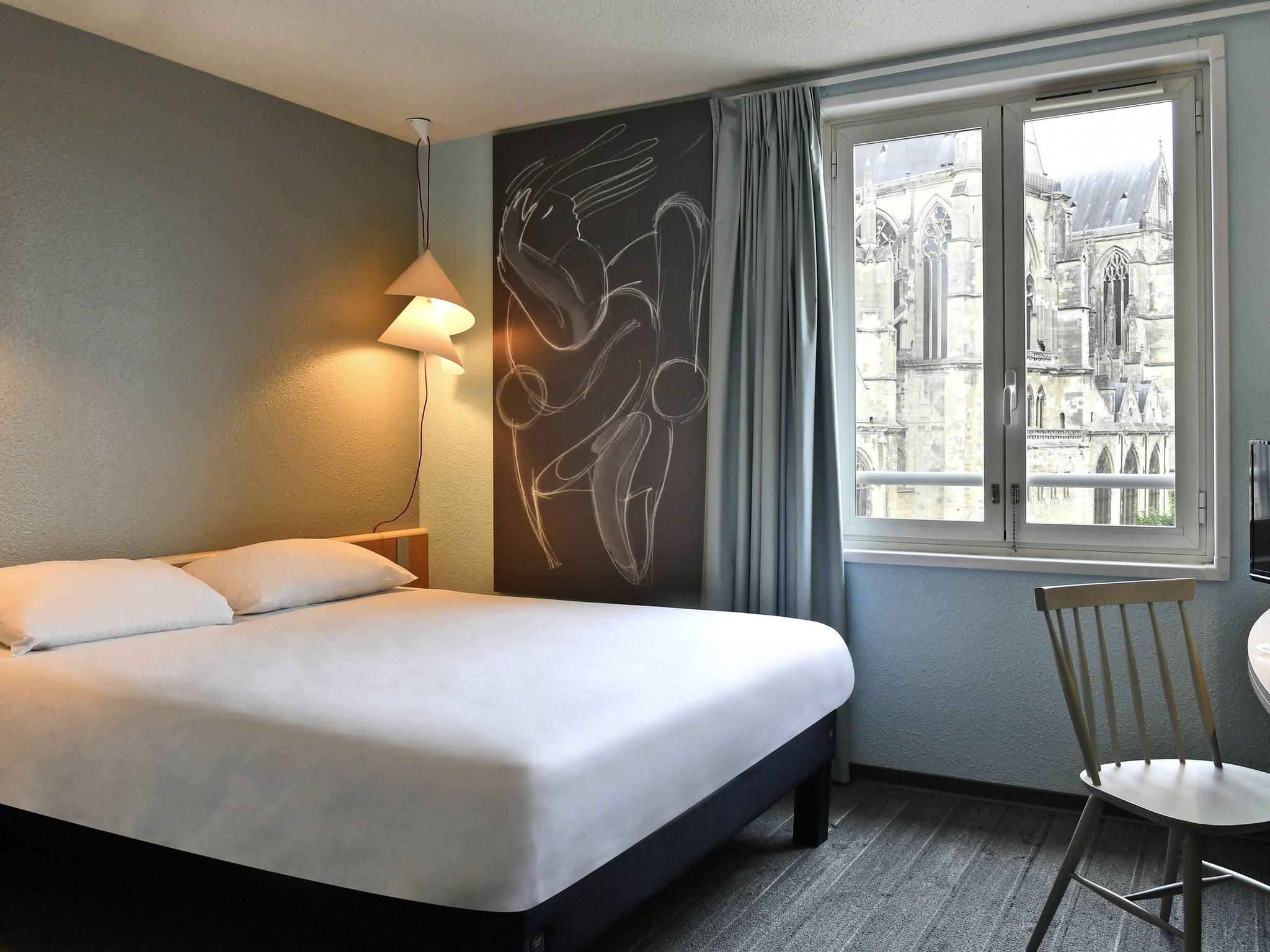 Отель — ibis Saint-Quentin Basilique