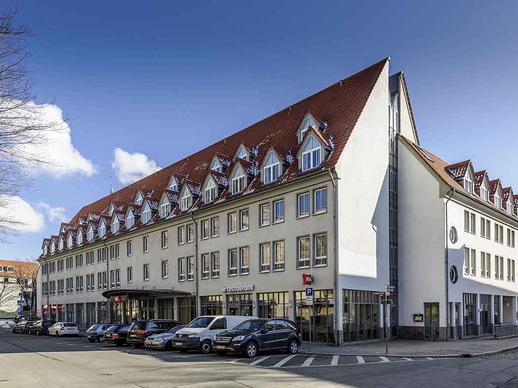 Ibis erfurt altstadt erfurt viamichelin informatie en for Design hotel erfurt