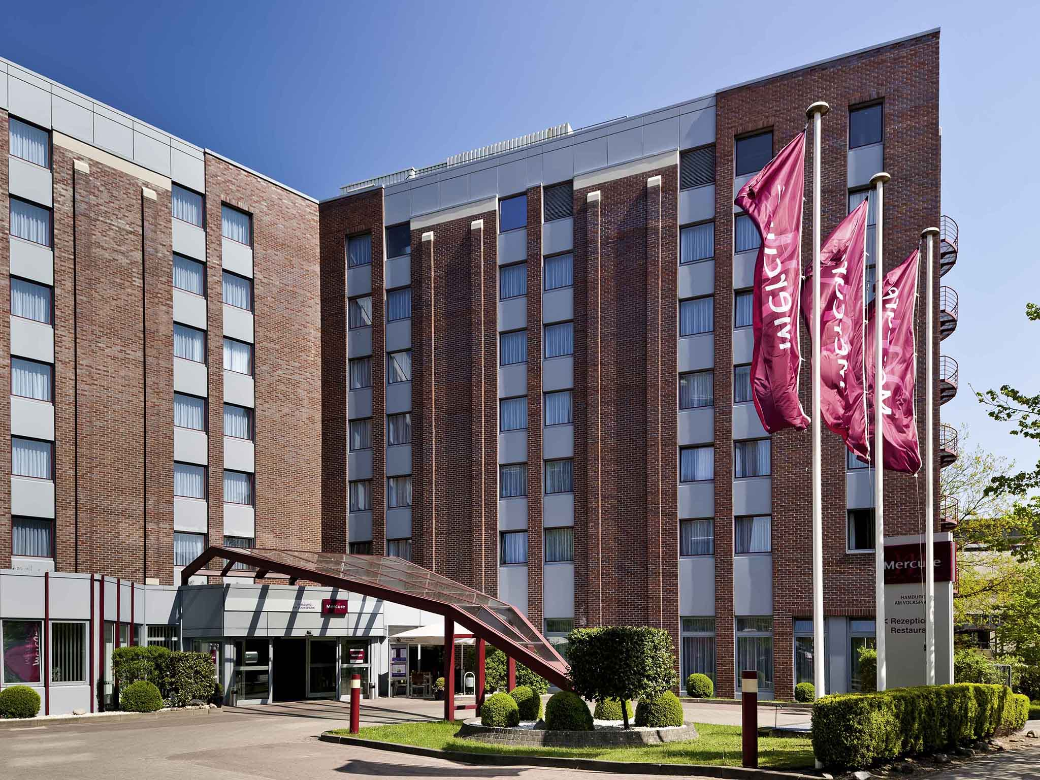 โรงแรม – Mercure Hotel Hamburg am Volkspark