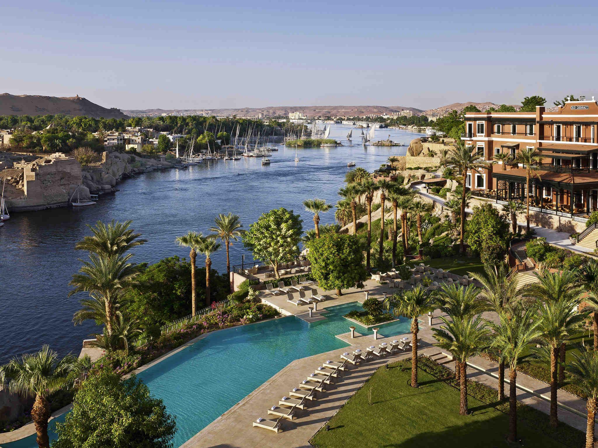 Hotel – Sofitel Legend Old Cataract Aswan