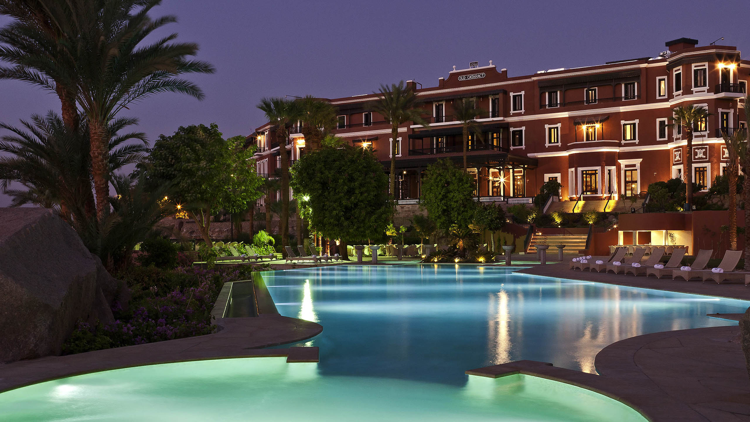 Luxury Hotel Aswan Sofitel Legend Old Cataract Aswan