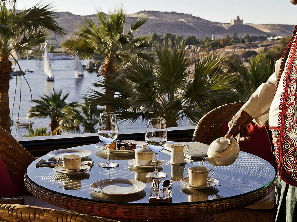 Luxury hotel aswan sofitel legend old cataract aswan for On the terrasse