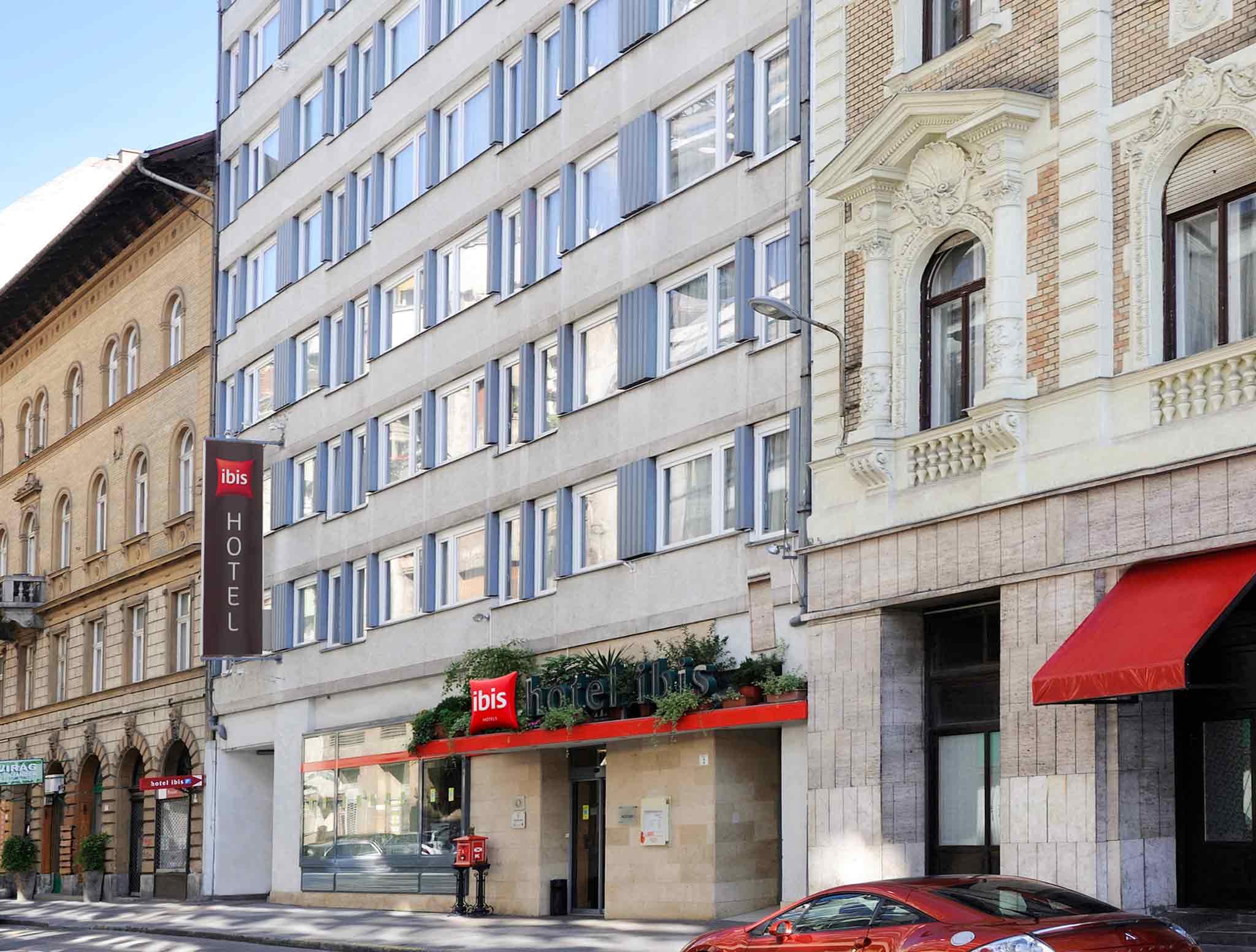 Отель — ibis Будапешт Сити