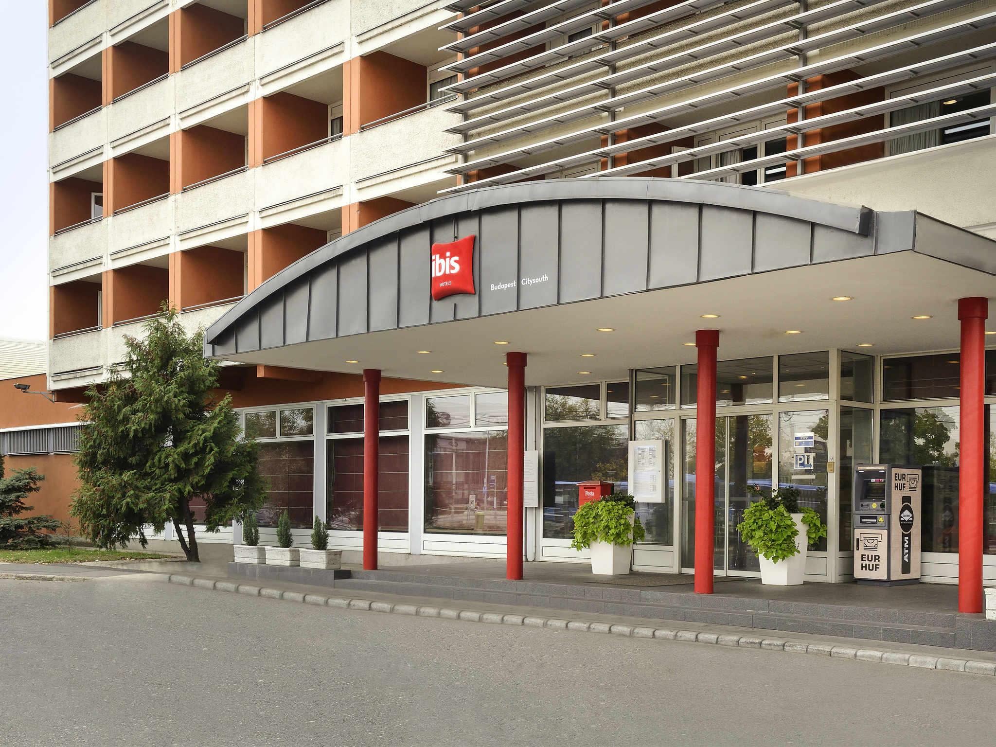 Отель — ibis Будапешт Аэро