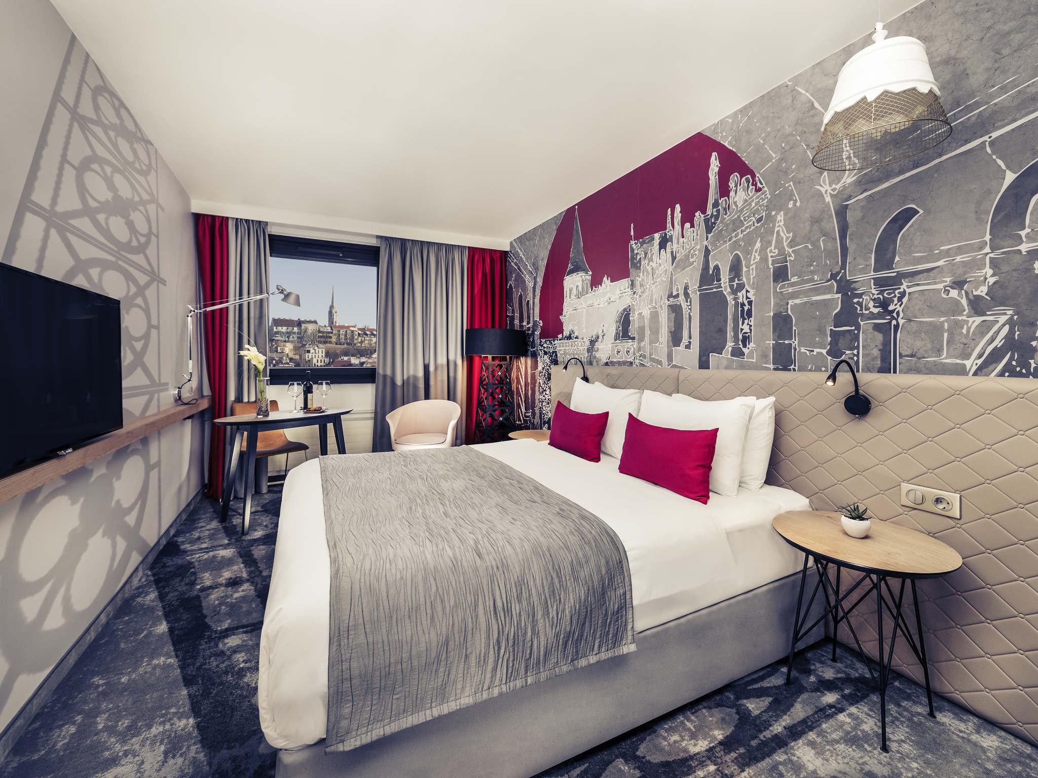酒店 – 布达佩斯布达美居酒店