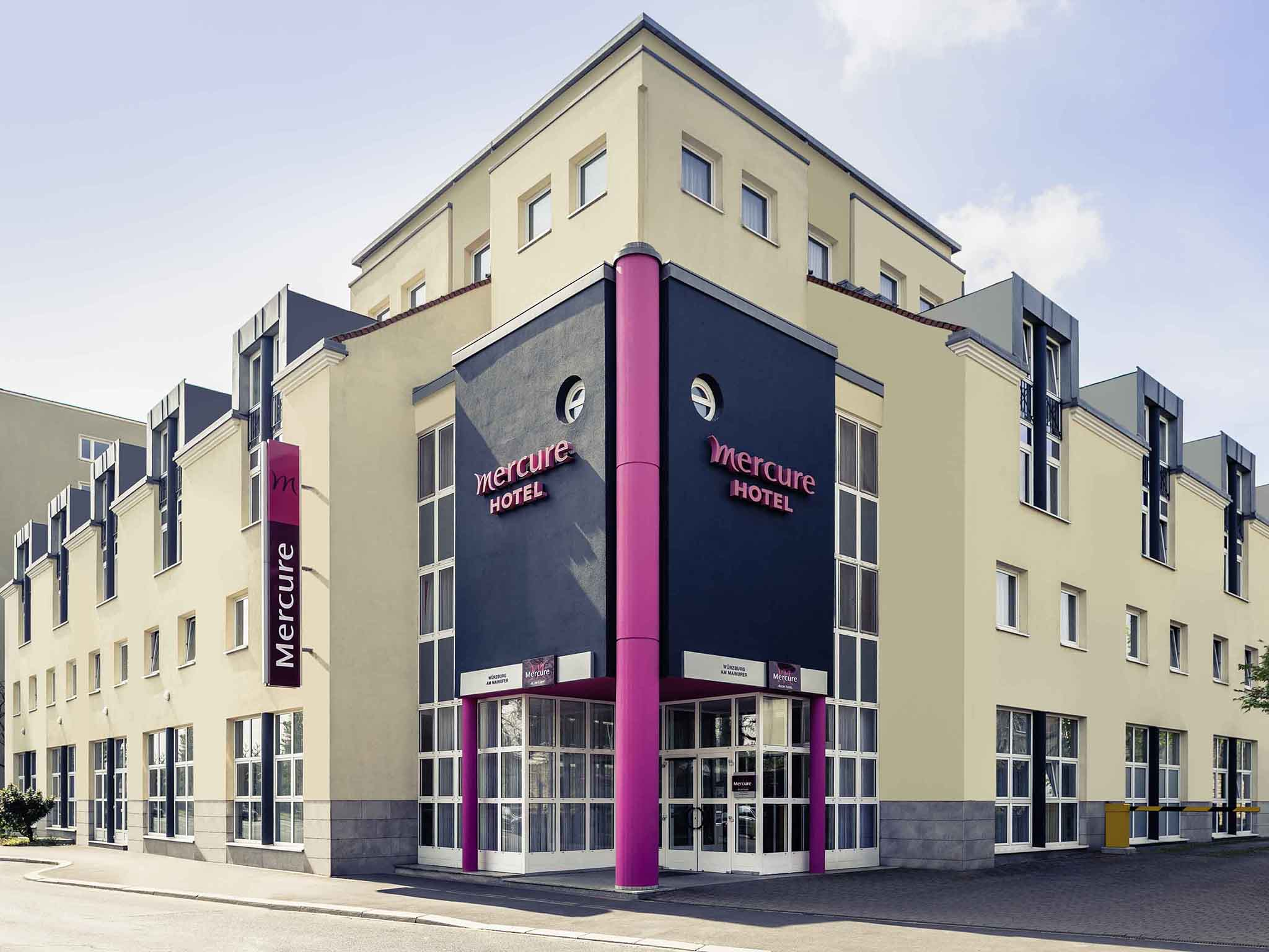 Otel – Mercure Hotel Wuerzburg am Mainufer