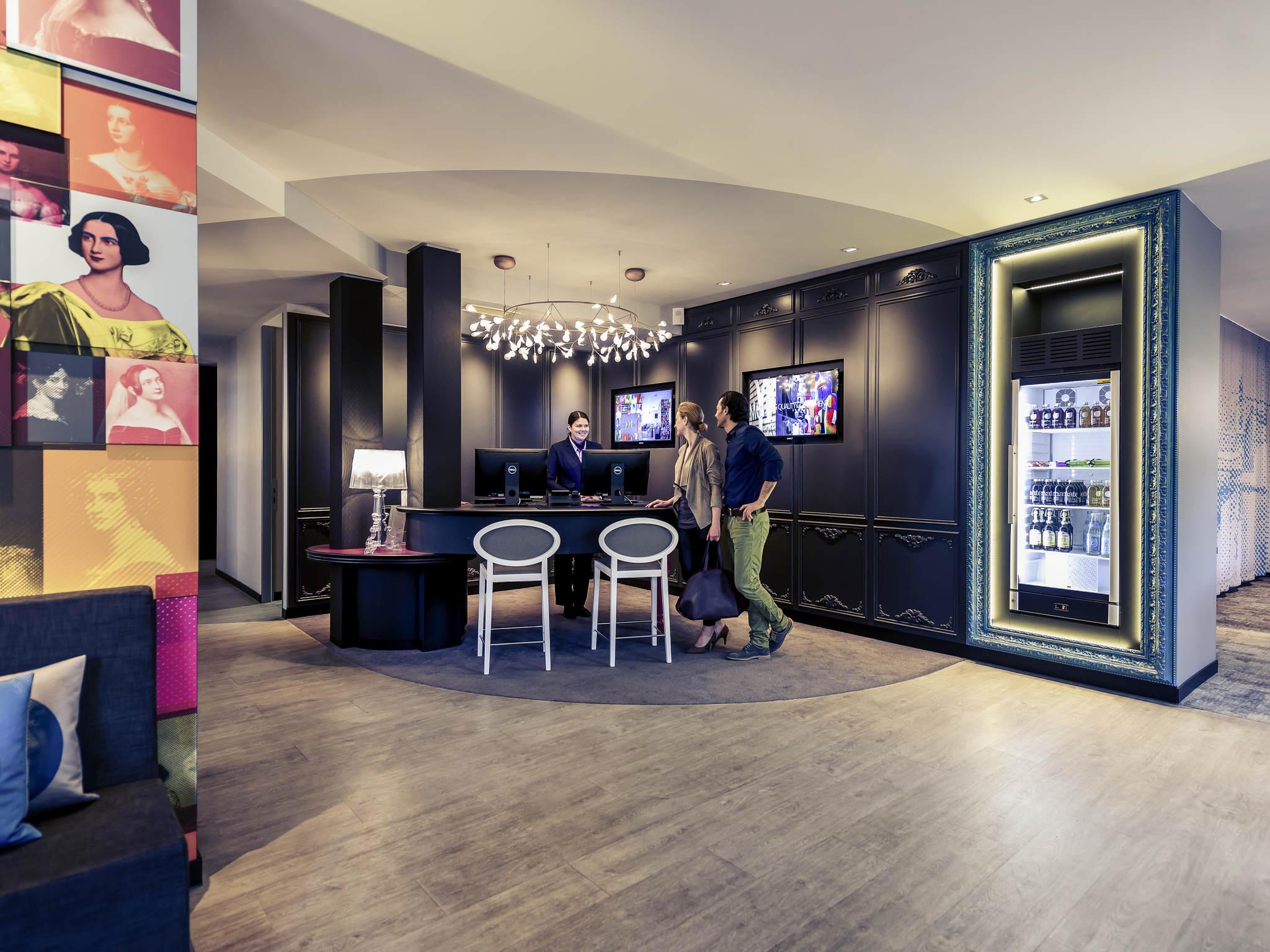 โรงแรม – โรงแรมเมอร์เคียว มุนเช่น โอลิมเปียปาร์ค