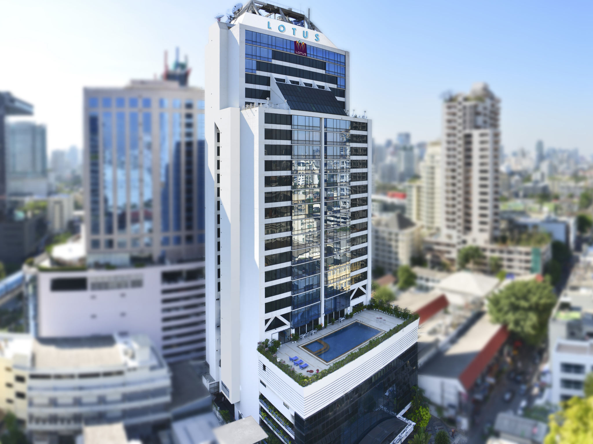 Отель — Бангкок Лотус Сукхмвит