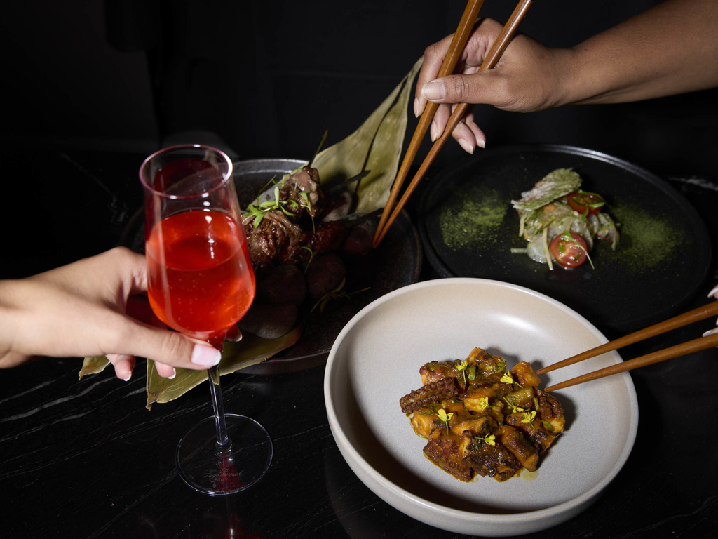 Vue restaurant auckland restaurants by accorhotels for Auckland cuisine