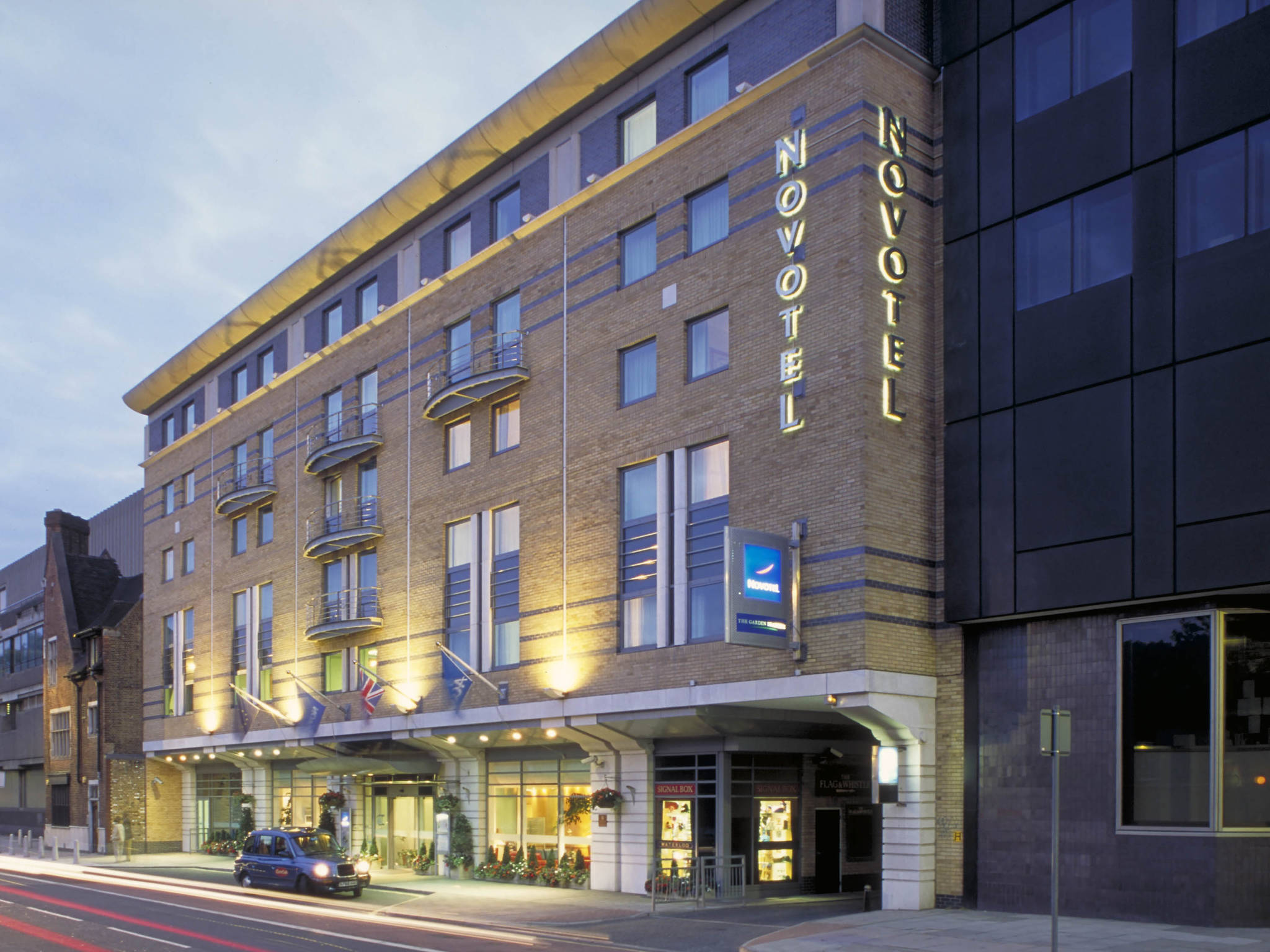Отель — Novotel Лондон Ватерлоо
