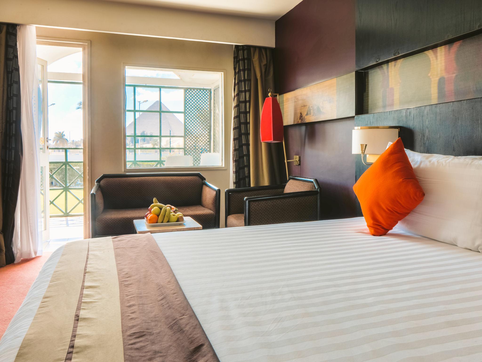 Отель — Mercure Cairo Le Sphinx Hotel