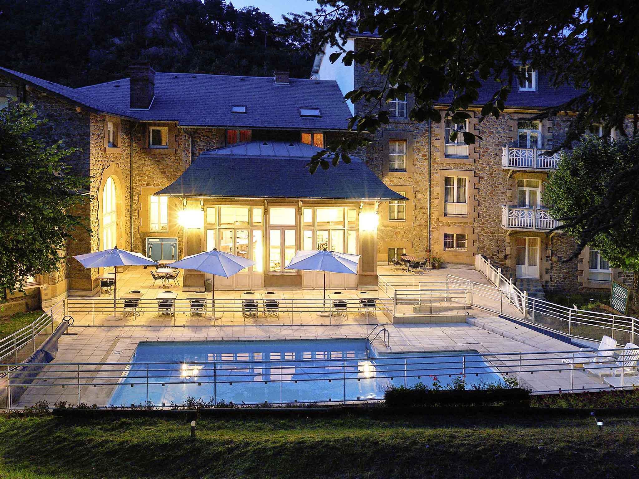 Отель — Hôtel Mercure Saint-Nectaire Spa & Bien-Être