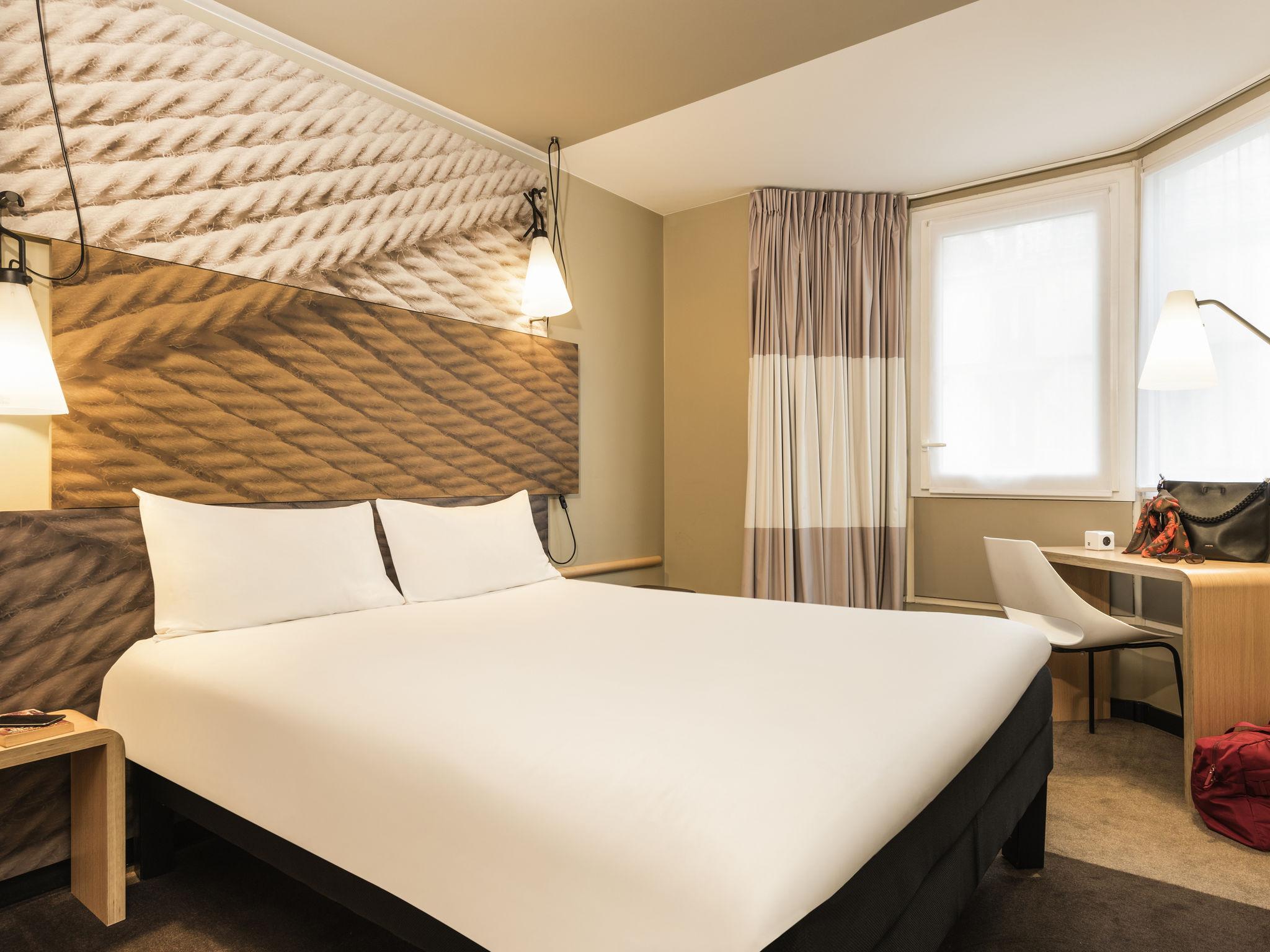 Отель — ibis Париж Северный Вокзал Chateau Landon 10 округ
