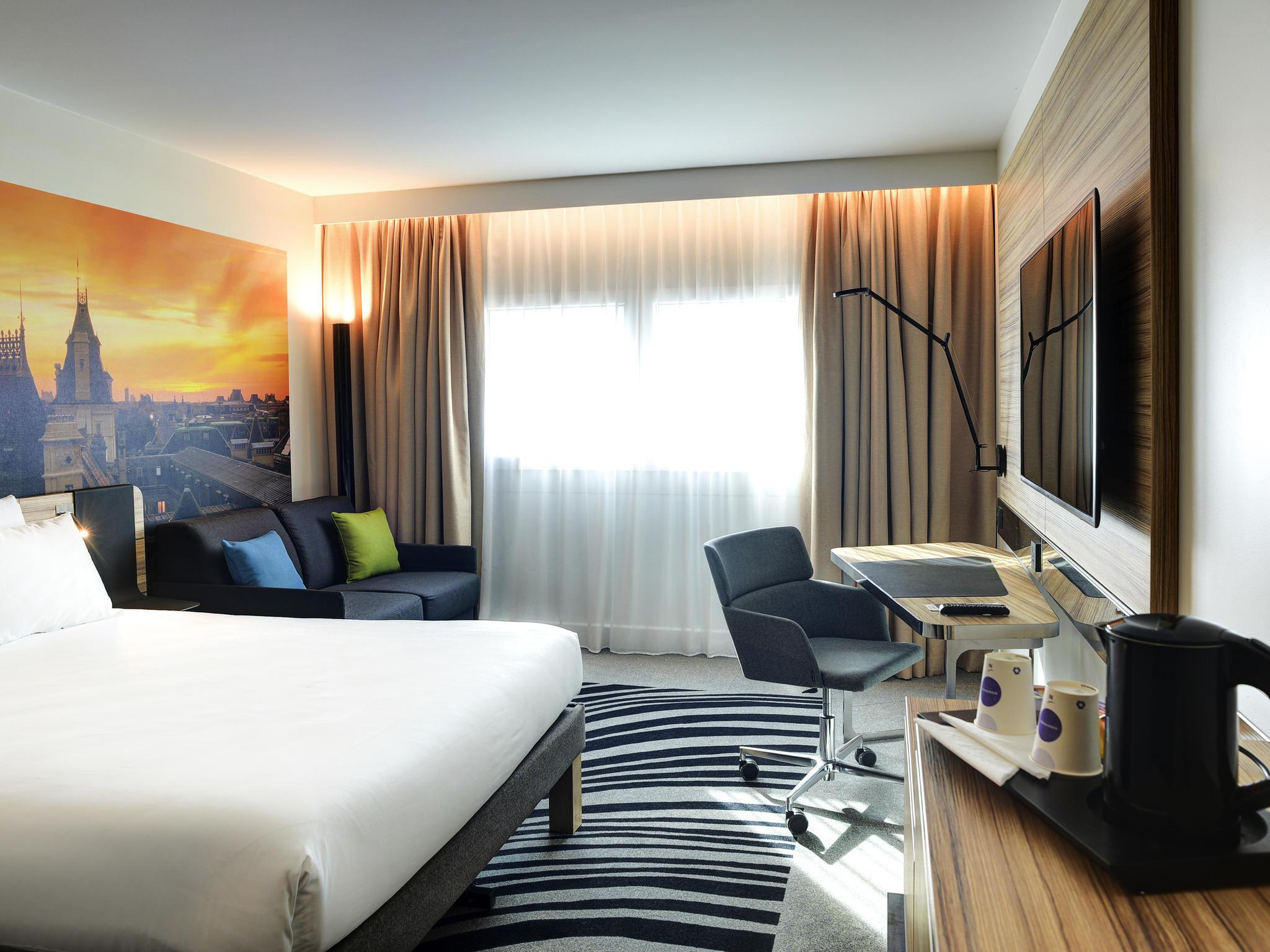 Отель — Novotel Париж 14 Порт Д'Орлеан