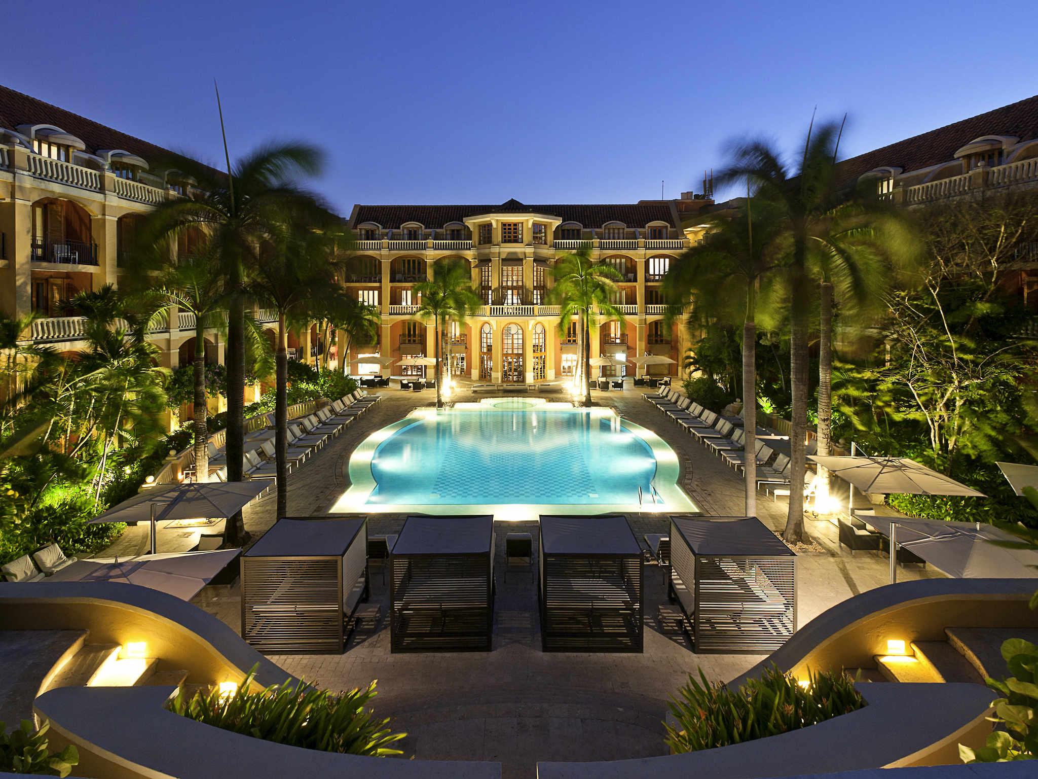 โรงแรม – Sofitel Legend Santa Clara Cartagena