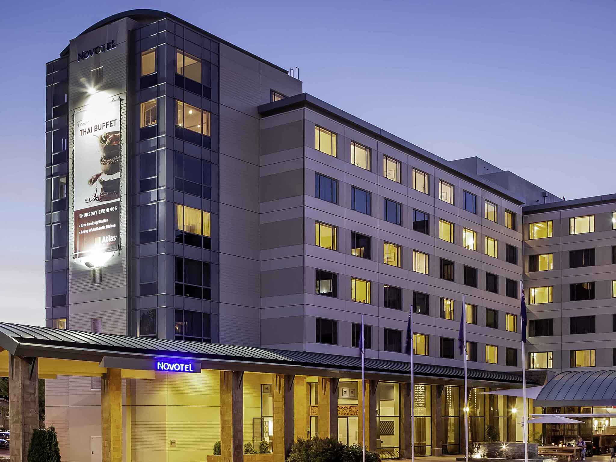 Hotell – Novotel Rotorua Lakeside