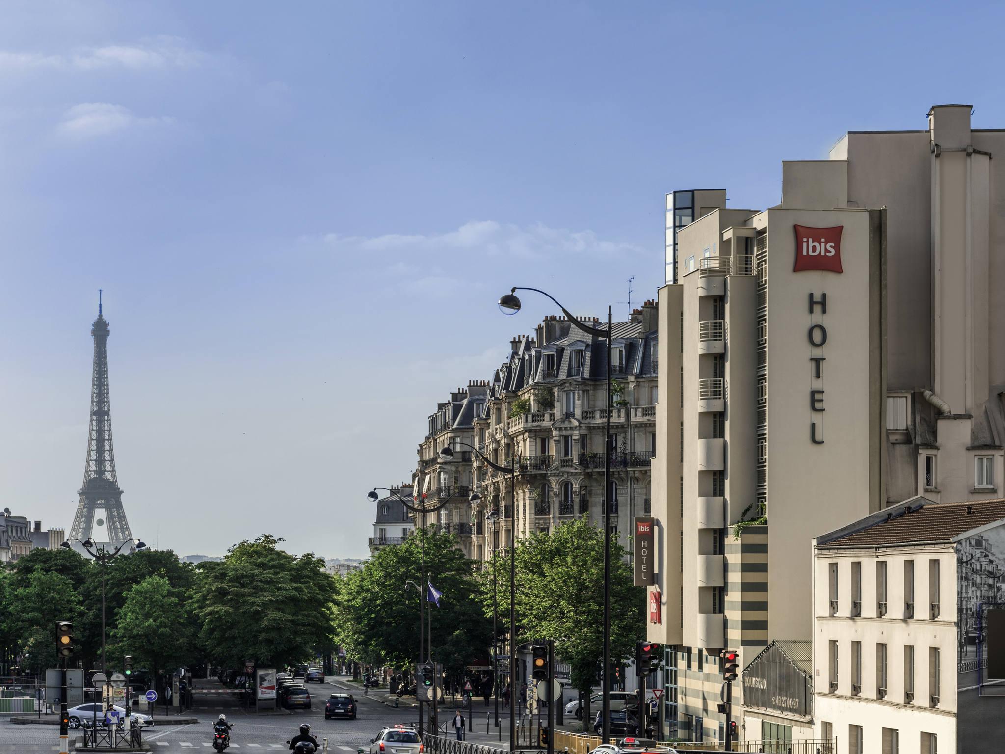 โรงแรม – ไอบิส ปารีส การ์ มงต์ปาร์นาส 15เอเม่