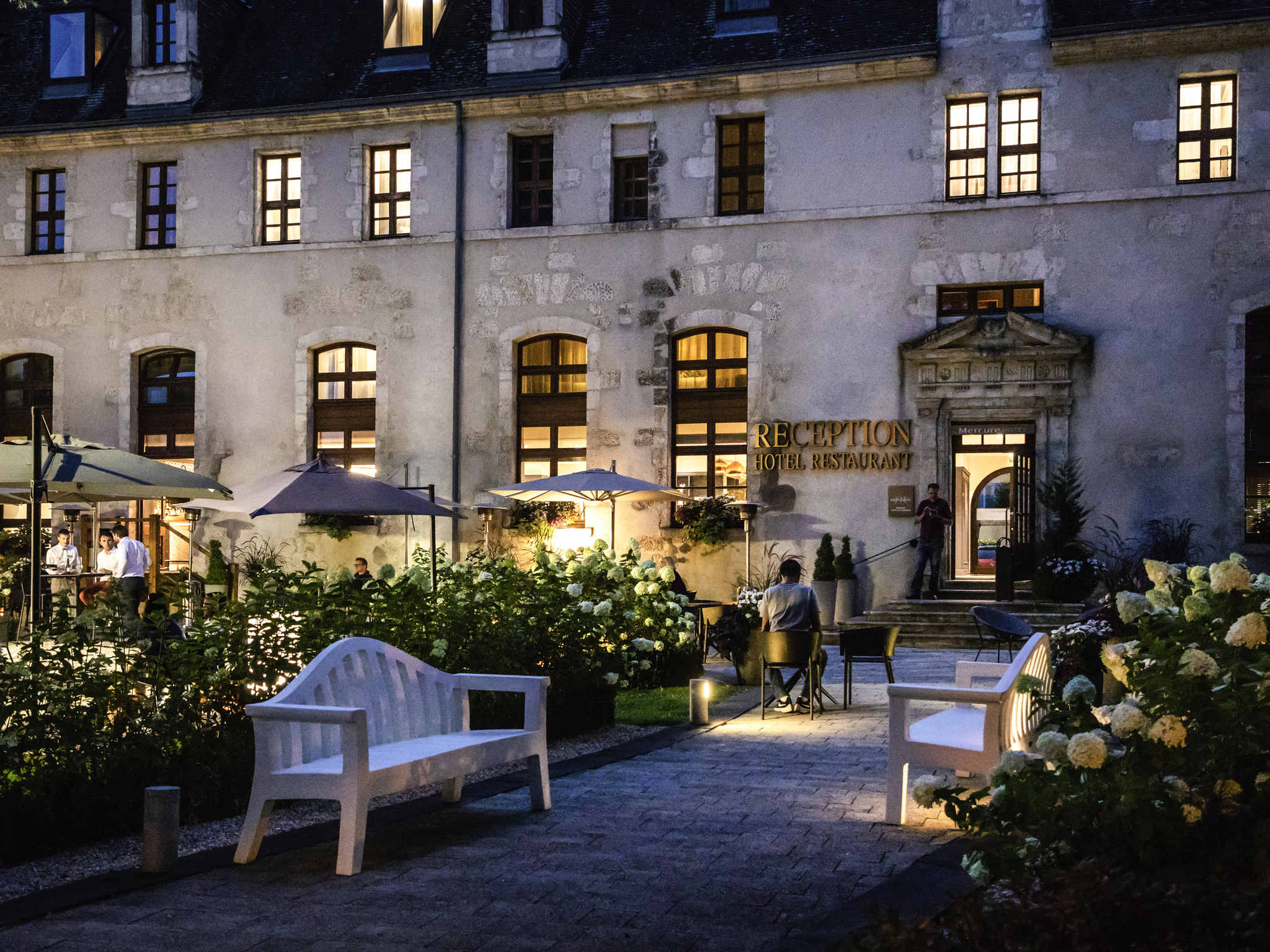 ホテル – Hôtel de Bourbon Mercure Bourges