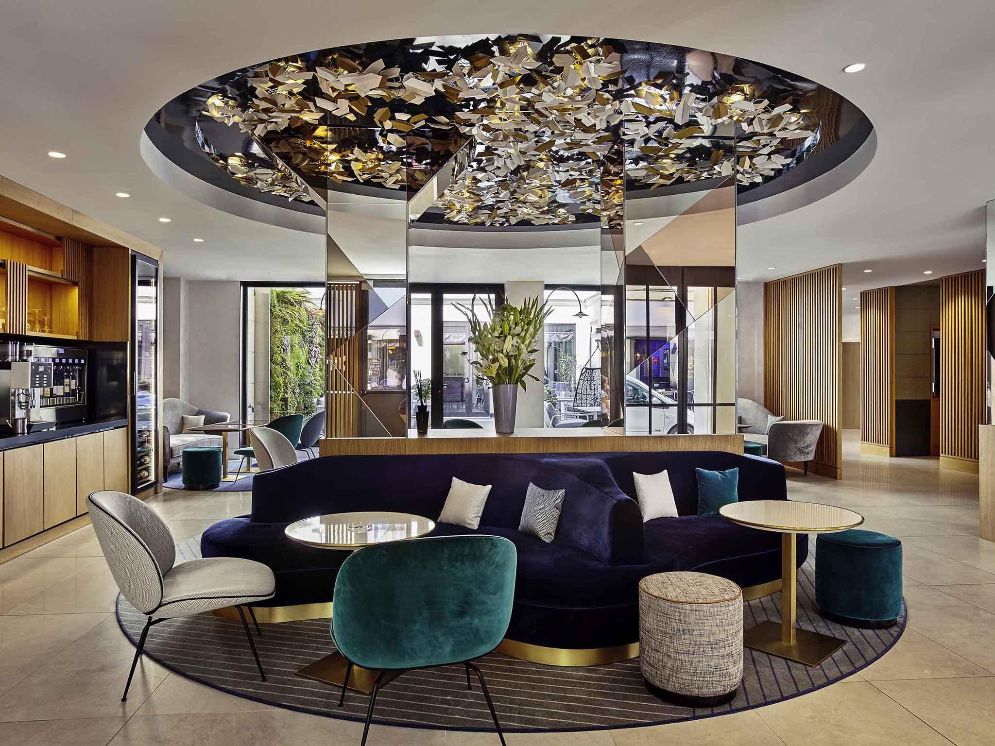 โรงแรม – โรงแรมเมอร์เคียว ปารีส โอเปร่า การ์นิเย