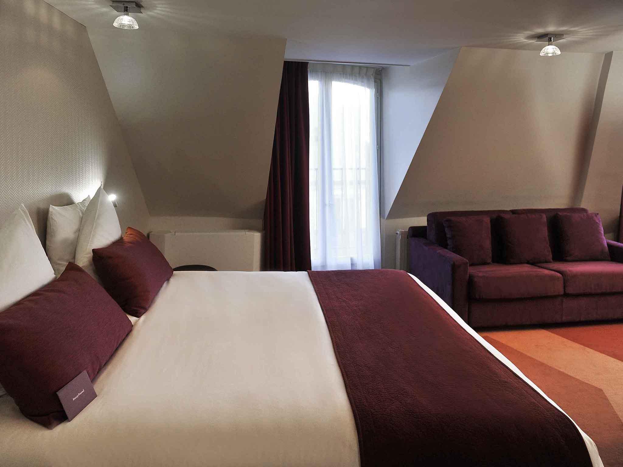 酒店 – 巴黎拉斐特歌剧院美居酒店