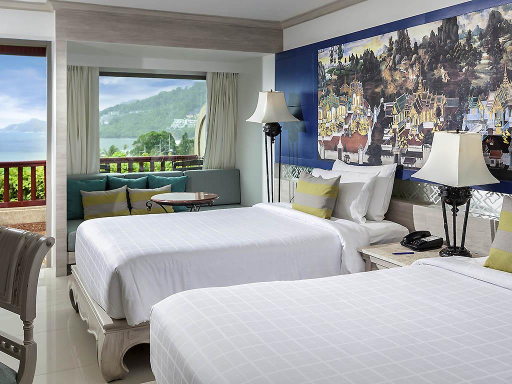Номер Deluxe с двумя односпальными кроватями и балконом с видом на море 1eee97bcb07