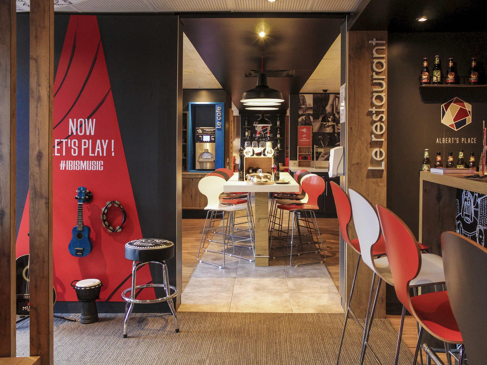 Hotel in gennevilliers ibis paris gennevilliers for Hotels ibis france