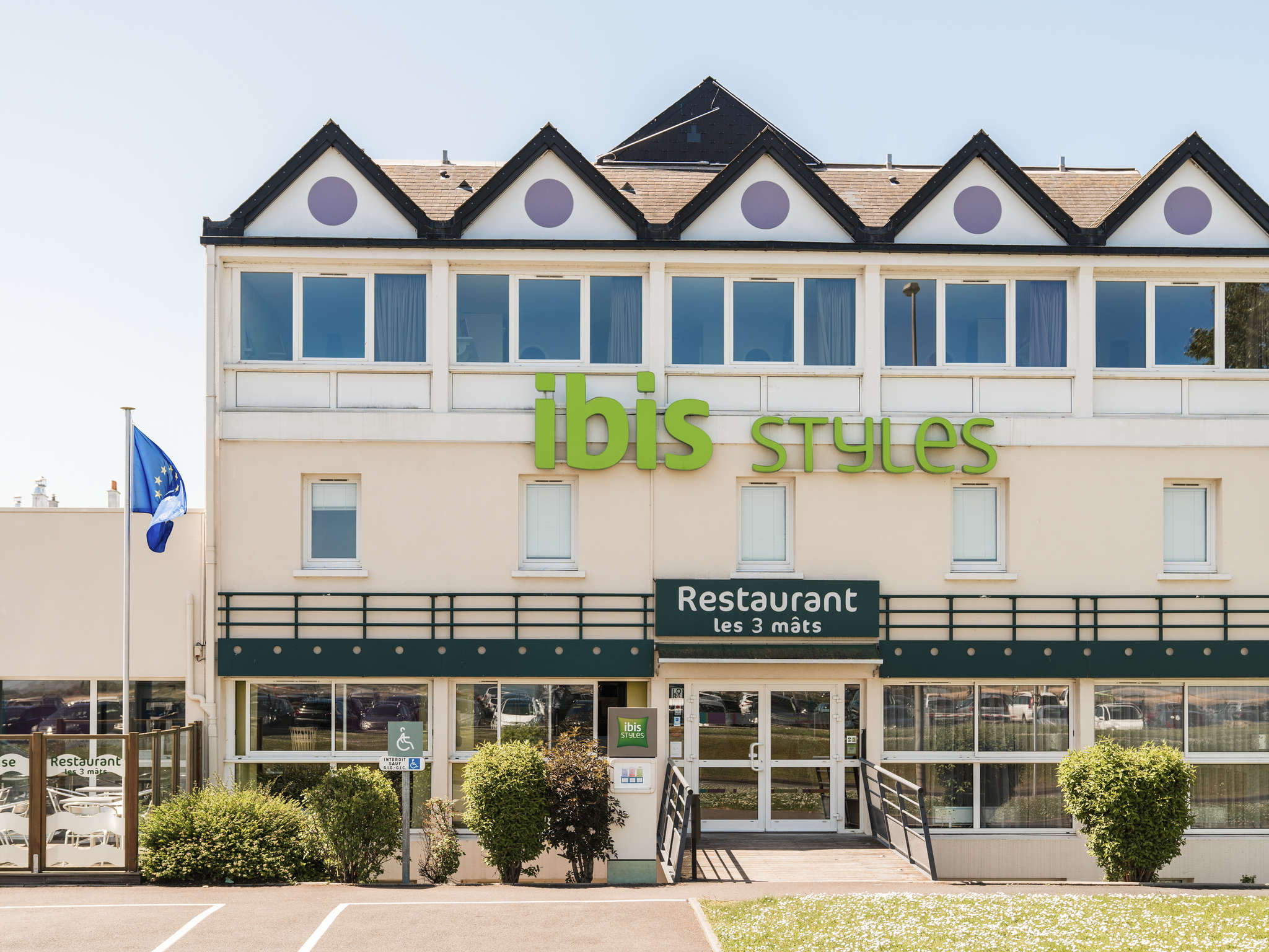 Hotell – ibis Styles Ouistreham
