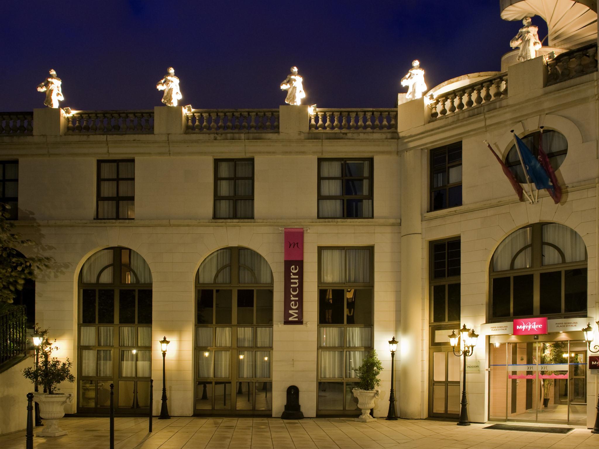 hotel em paris hotel mercure paris gobelins place d 39 italie. Black Bedroom Furniture Sets. Home Design Ideas