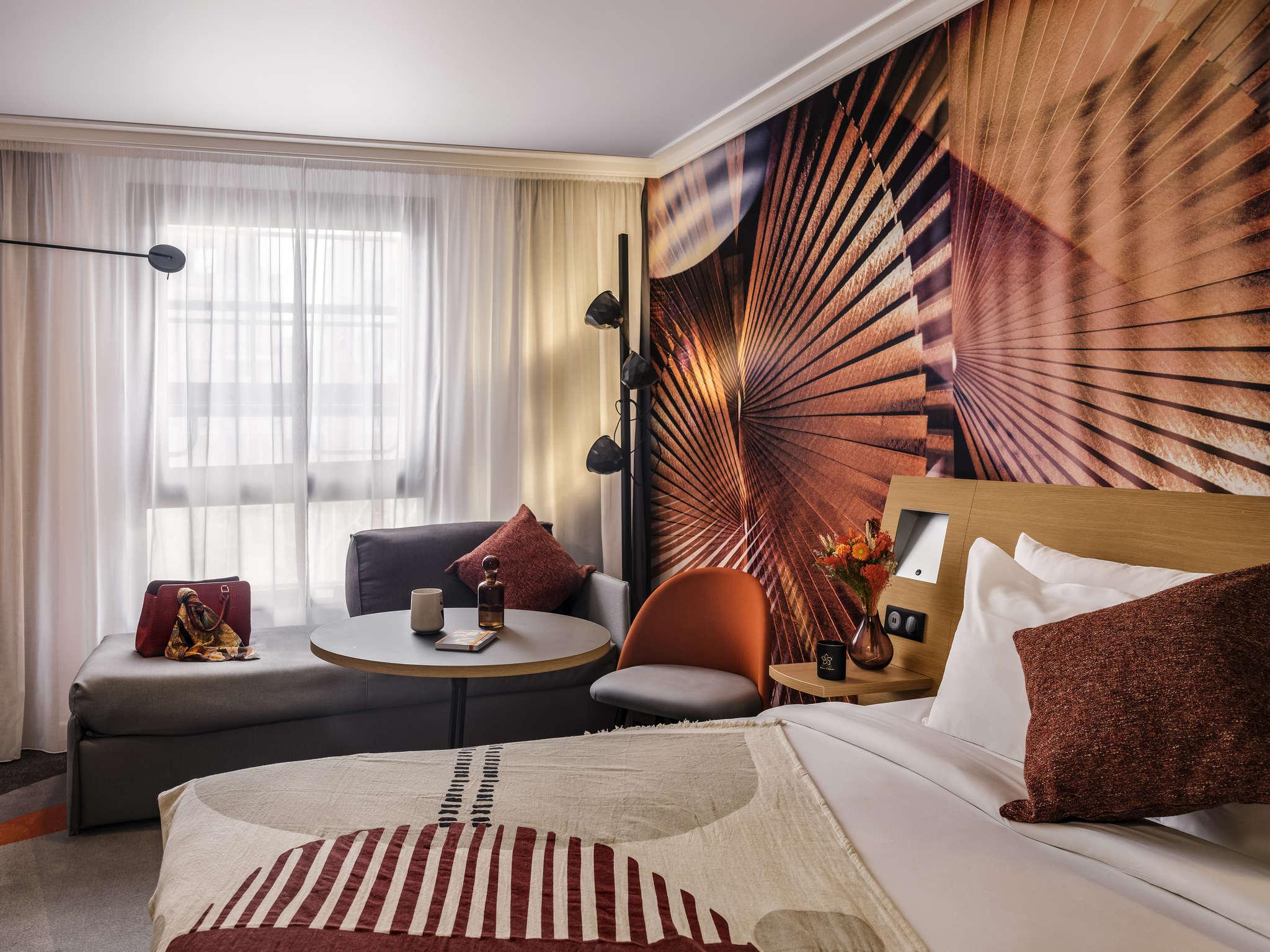 โรงแรม – โนโวเทล ปารีส โวจิราร์ด มงต์ปาร์นาส