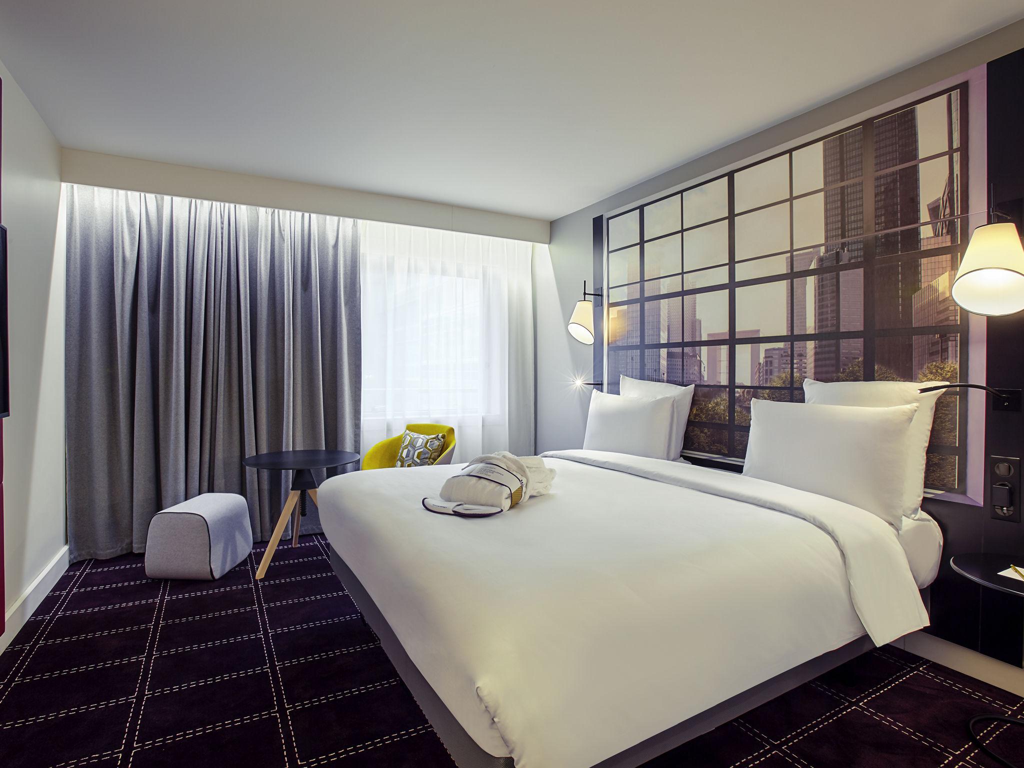 Отель — Отель и Резиденция Mercure Париж Большая арка Дефанс