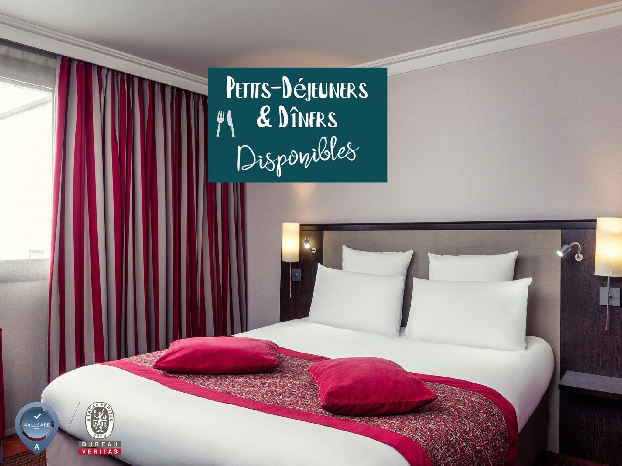 Отель — Hôtel Mercure Saint-Quentin-en-Yvelines Centre