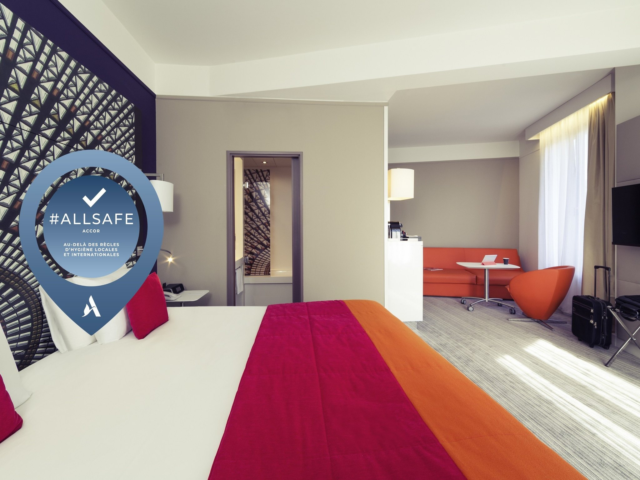 Hotell – Mercure Nantes Centre Grand Hôtel
