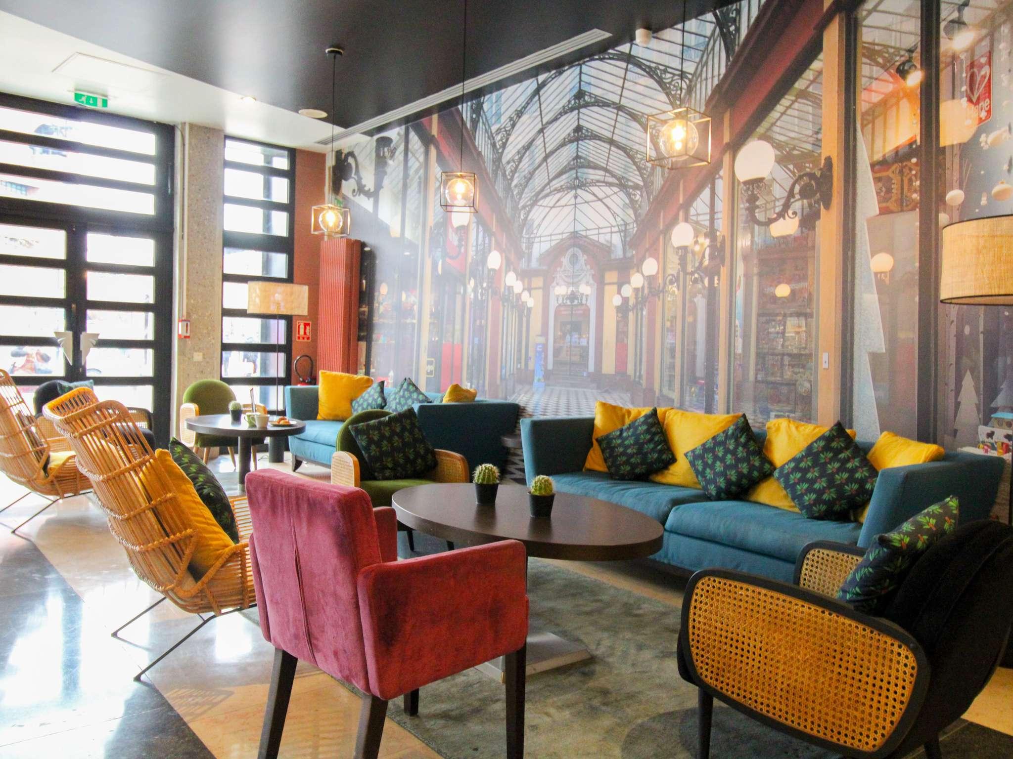 Hotel – ibis Styles Evry Cathédrale