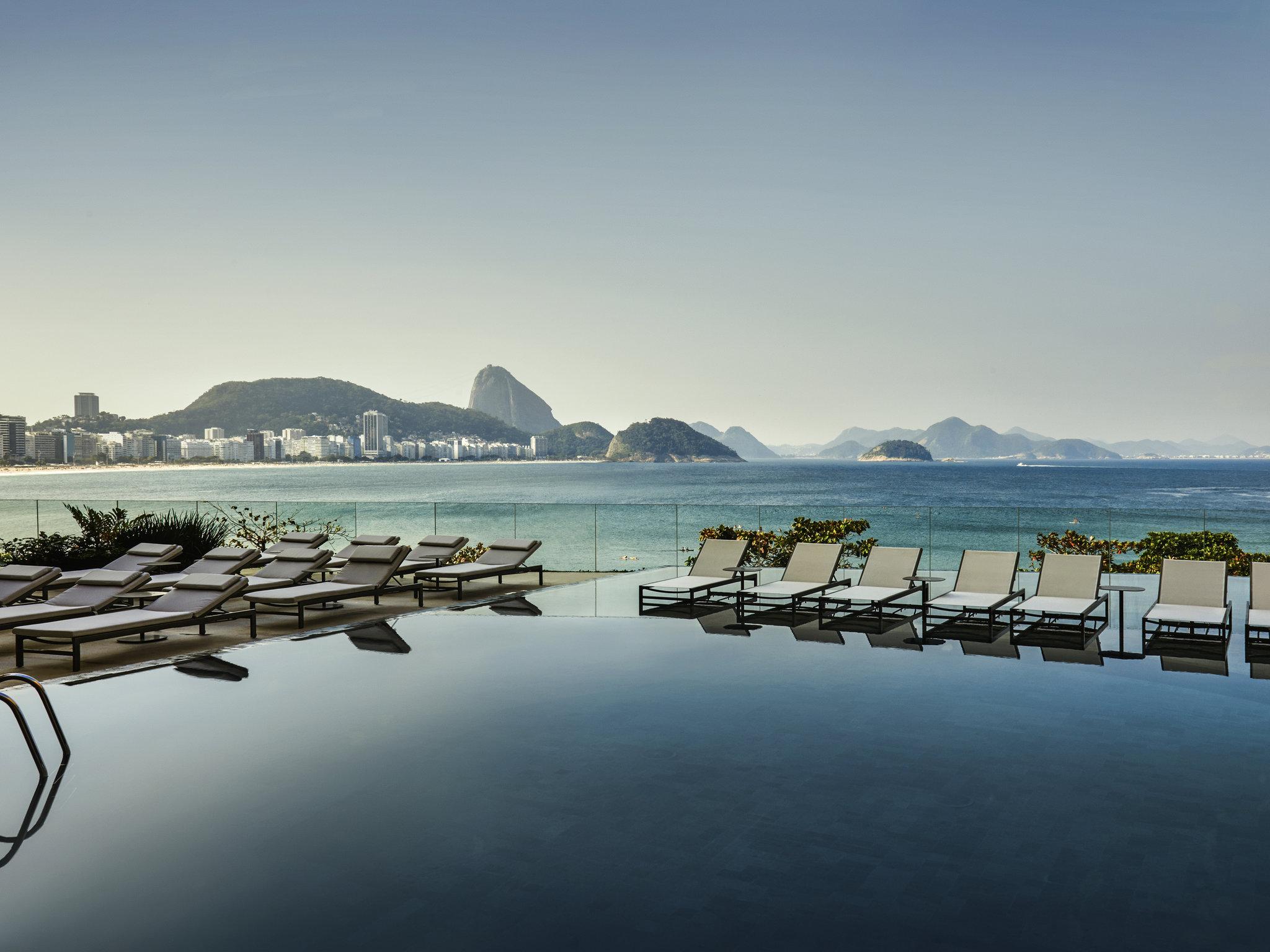 Hotel – Sofitel Rio Copacabana (nantinya Fairmont; tutup untuk renovasi)