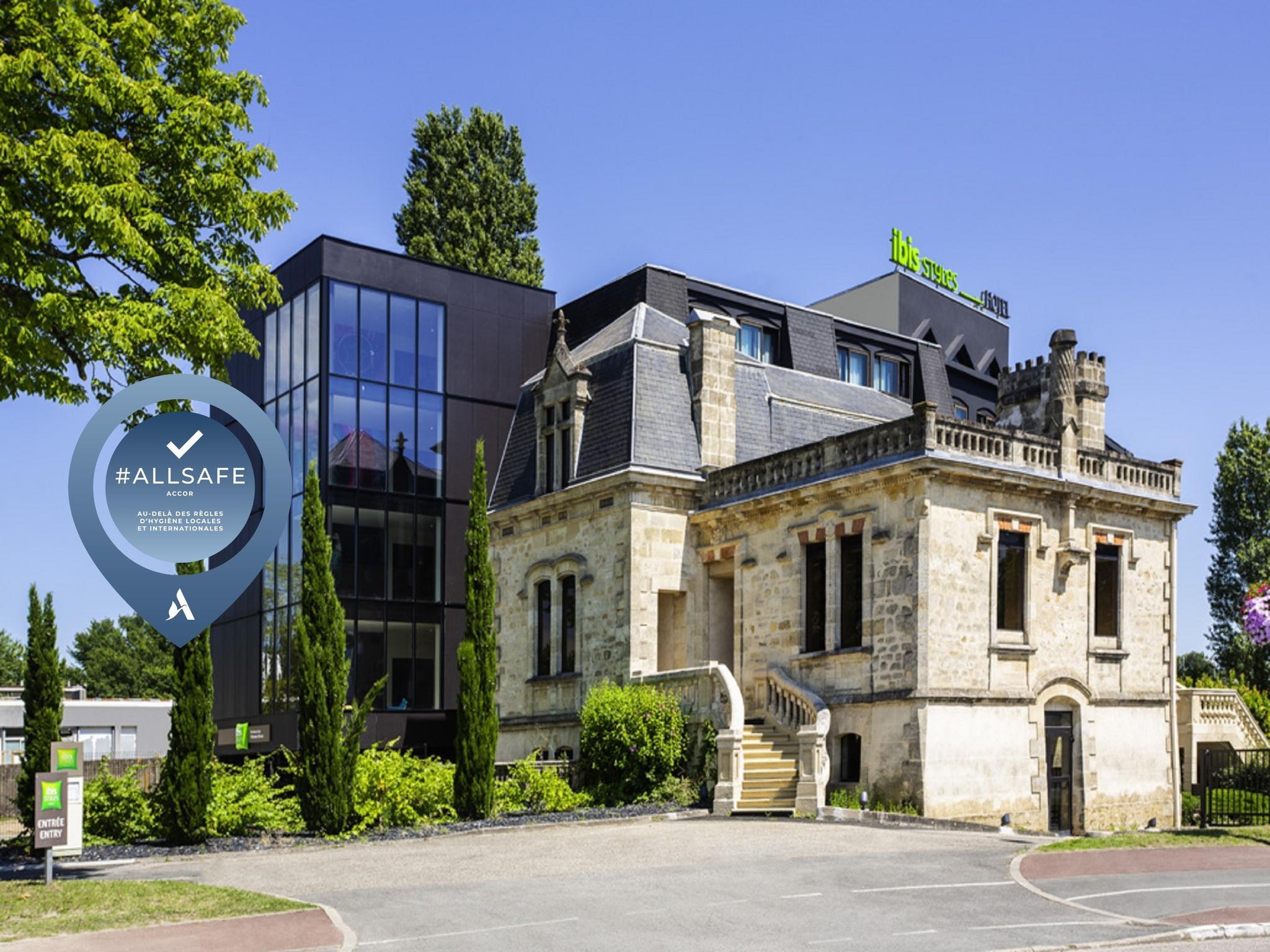 Hotell – ibis Styles Bordeaux Sud Villenave-d'Ornon