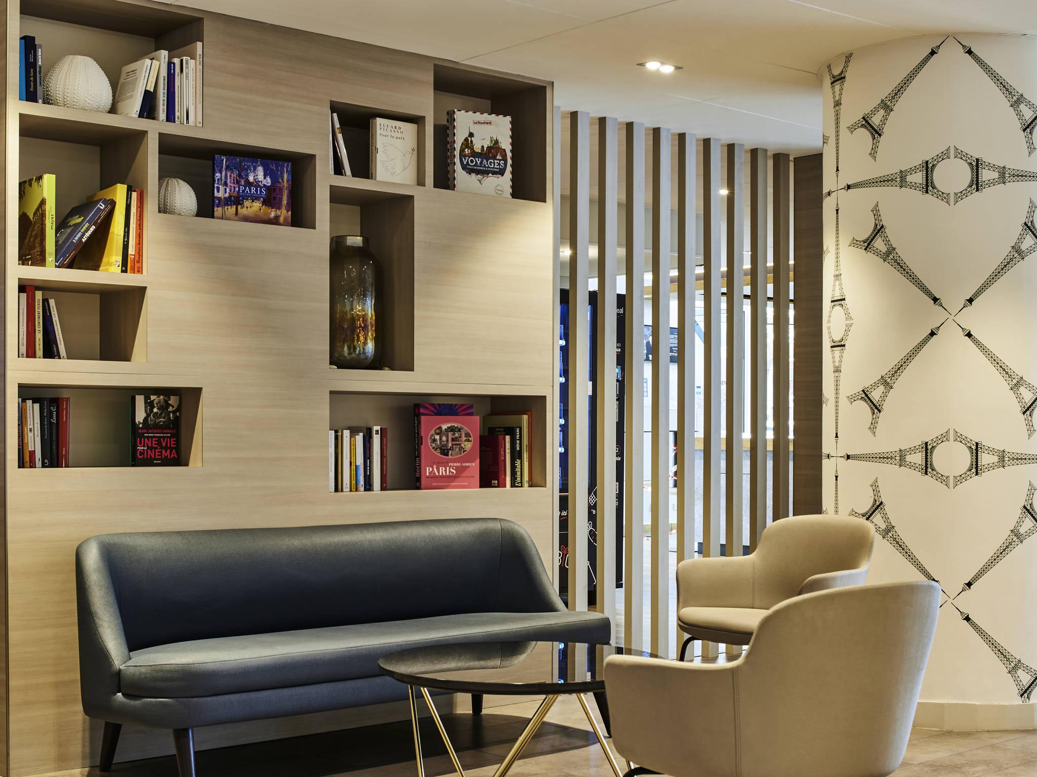 โรงแรม – ไอบิส ปารีส ปอร์ต เดอ มงเทรย