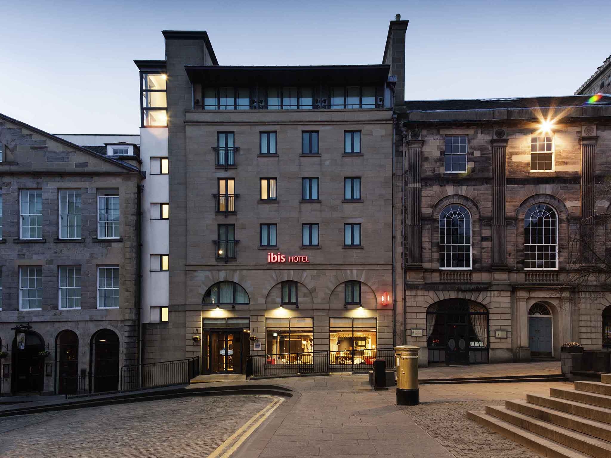 Отель — ibis Эдинбург Центр Королевская Миля Хантер-Сквер (новые номера)