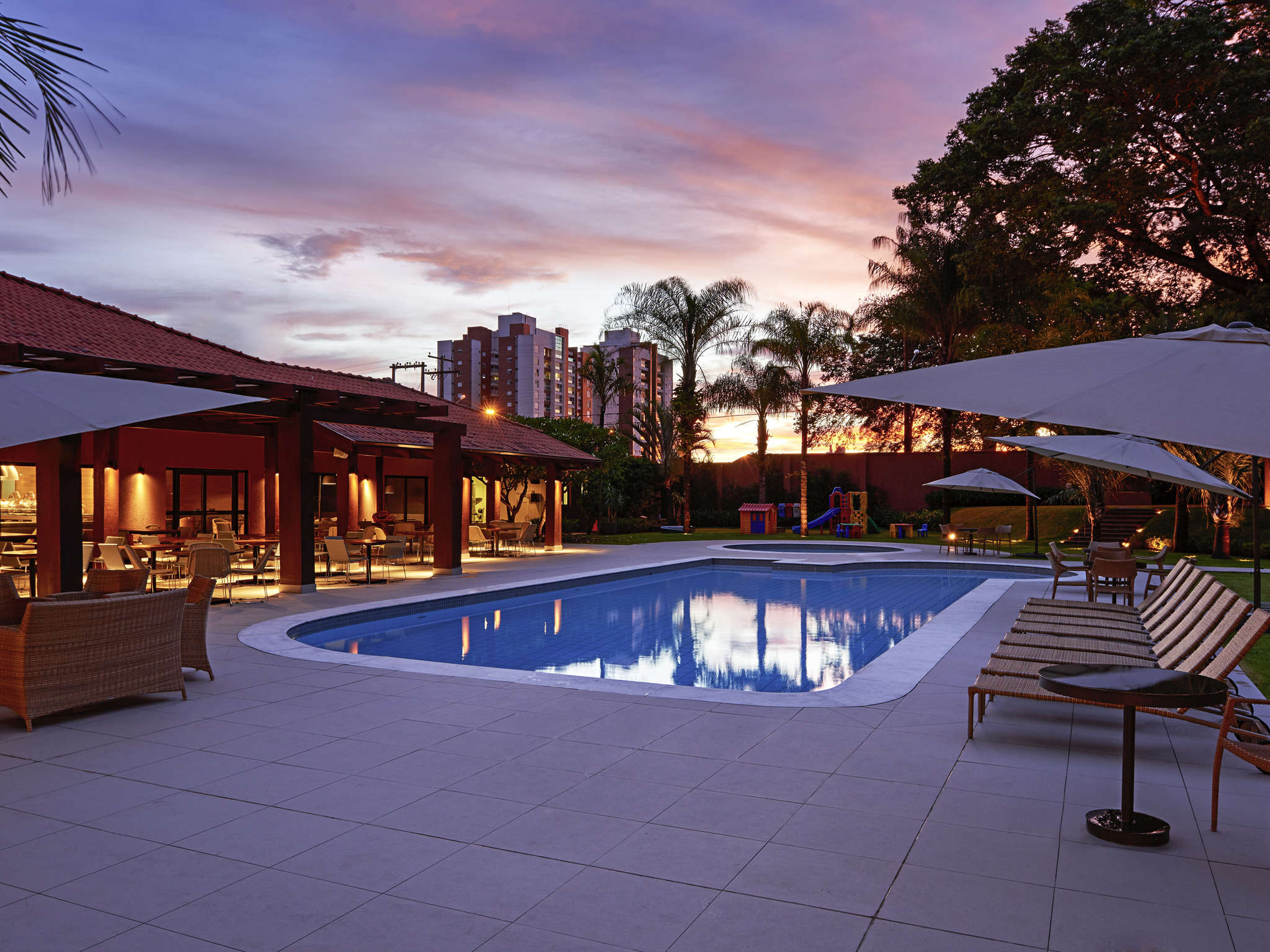 โรงแรม – Novotel Campo Grande