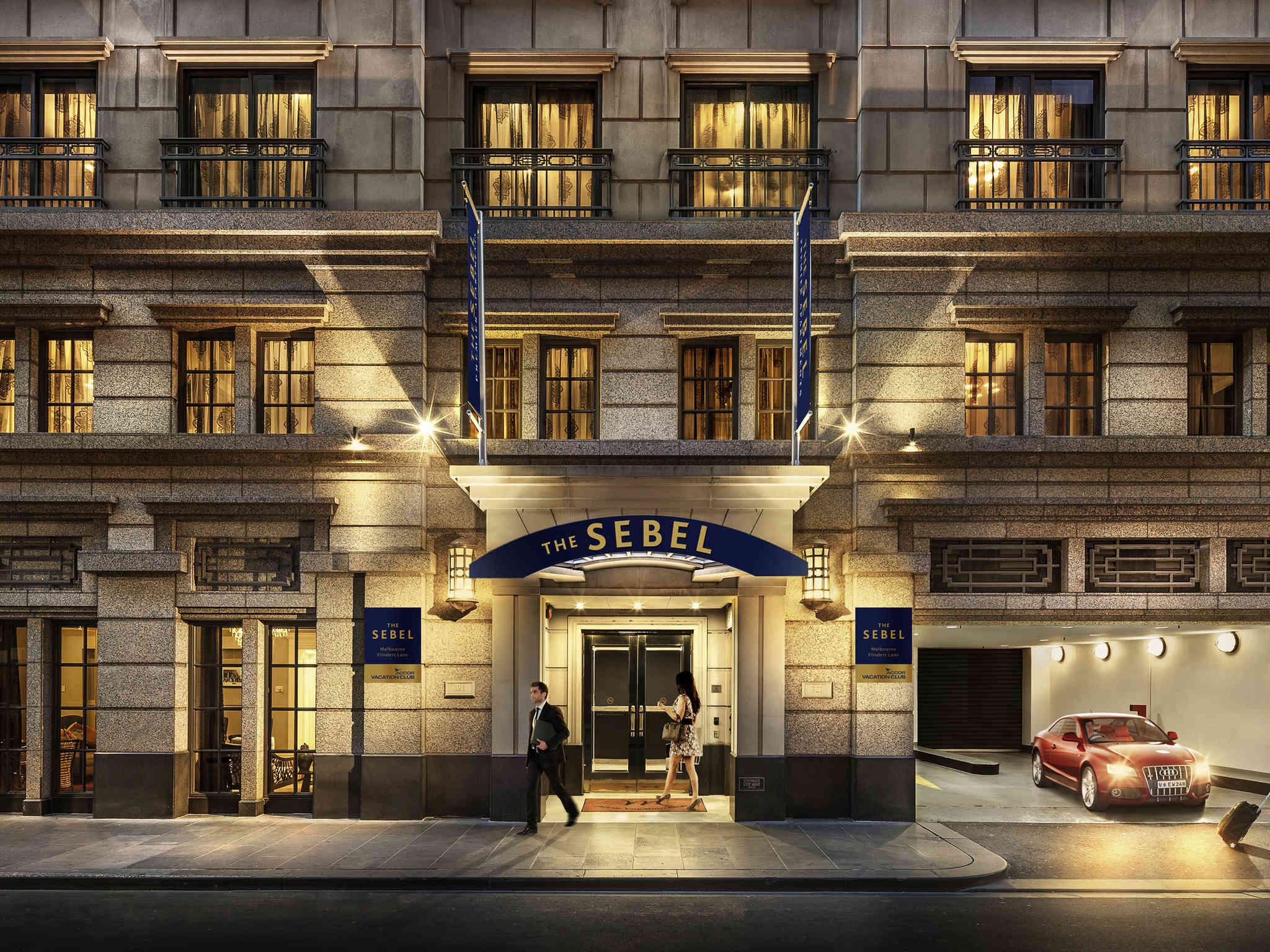 Отель — The Sebel Мельбурн Флиндерс Лейн