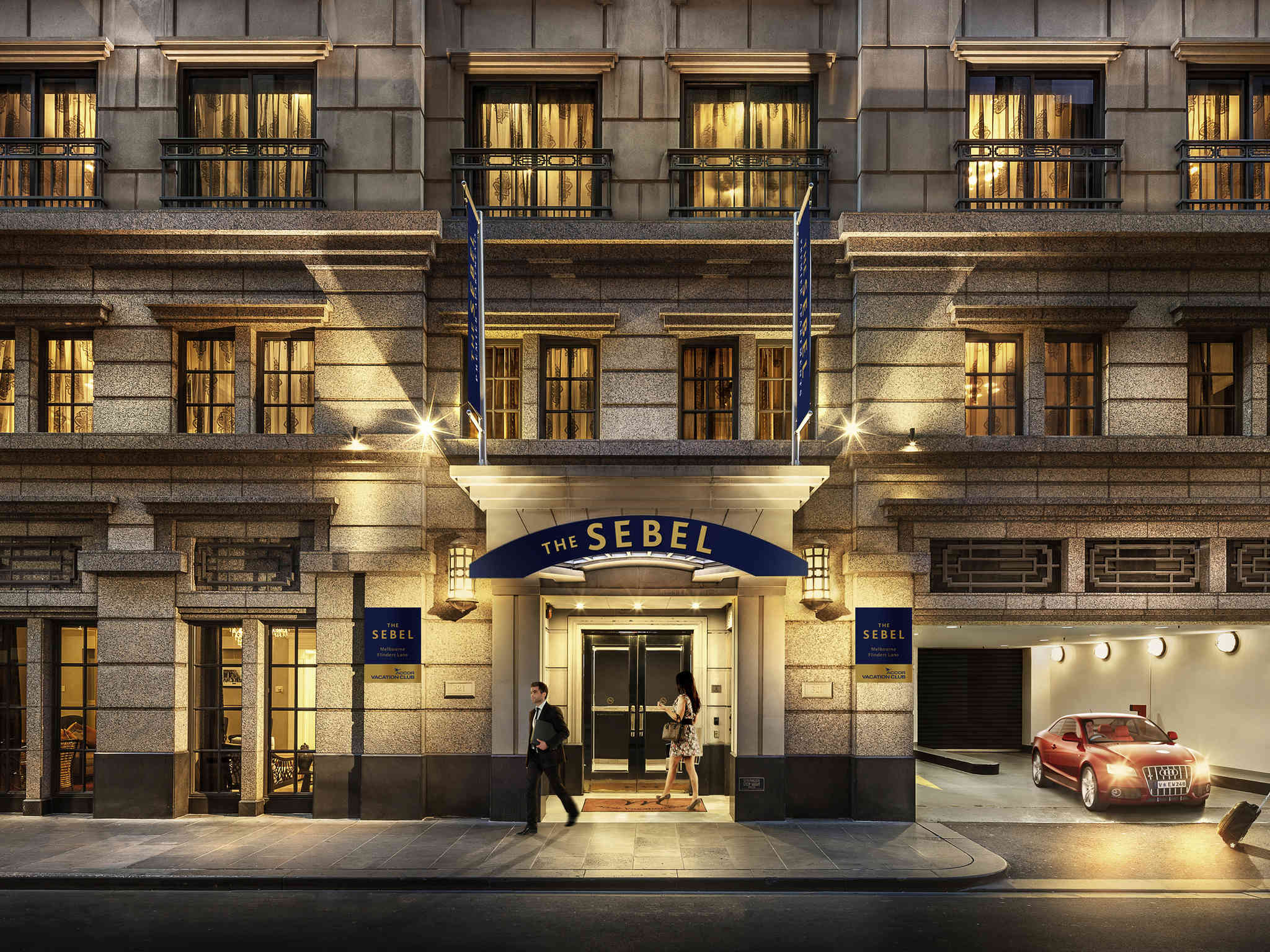 호텔 – 더 세벨 멜버른 플린더스 레인