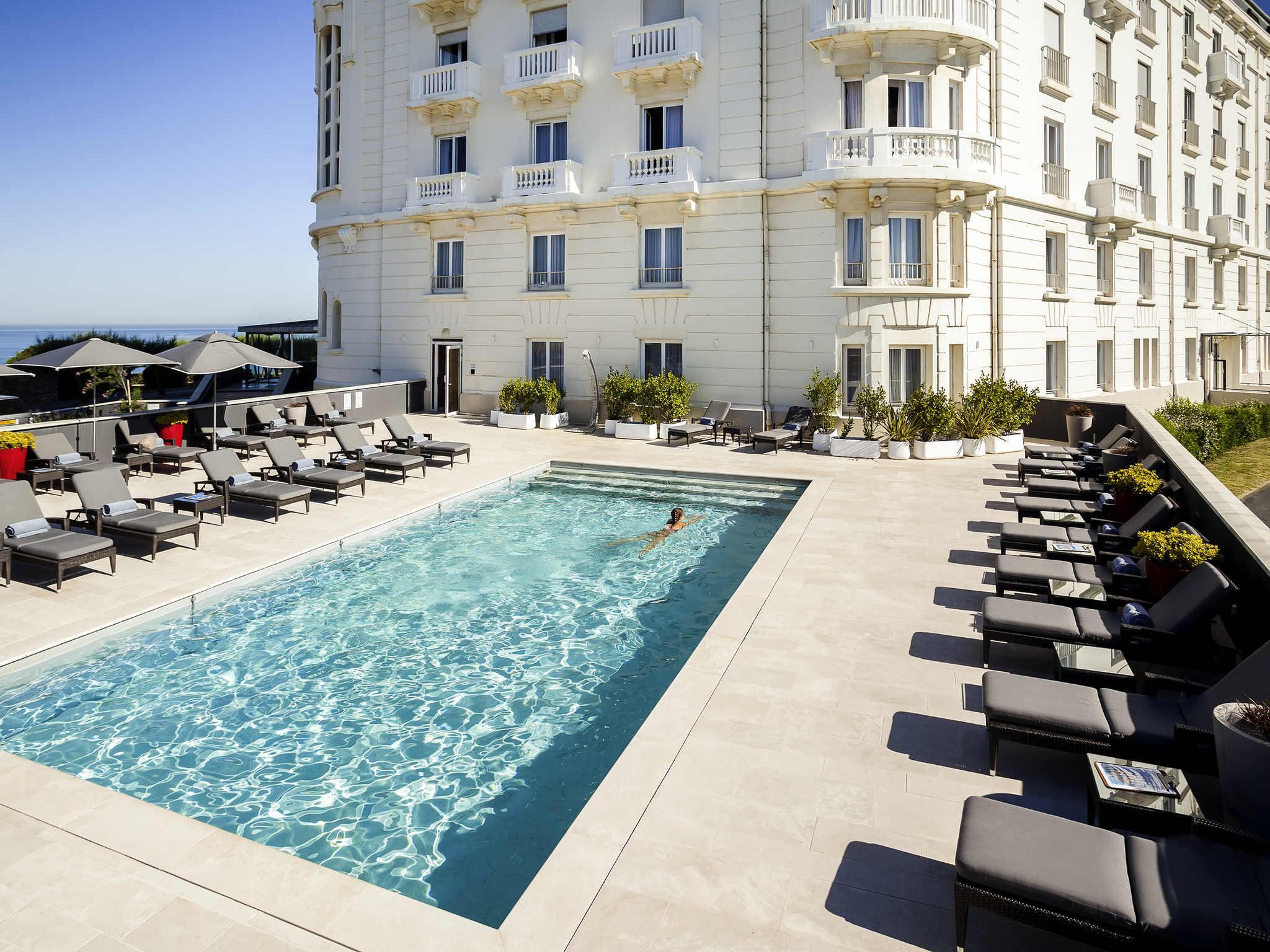 酒店 – 美憬阁索菲特里贾纳比亚里茨水疗酒店