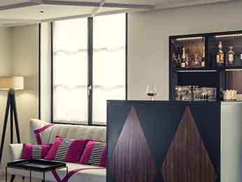 Bar - Hotel Mercure Paris Arco do Triunfo Wagram