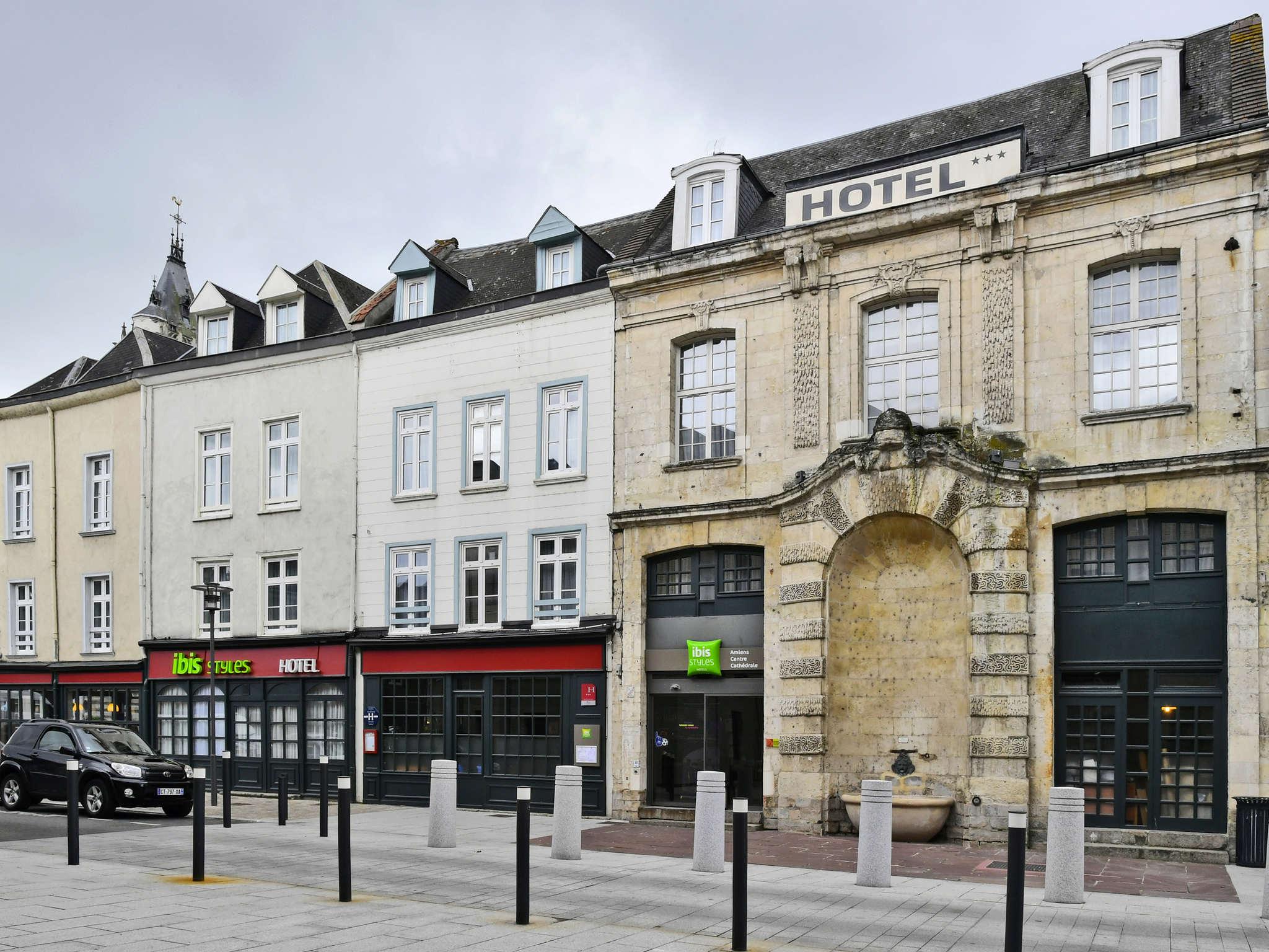 Отель — ibis Styles Amiens Cathédrale