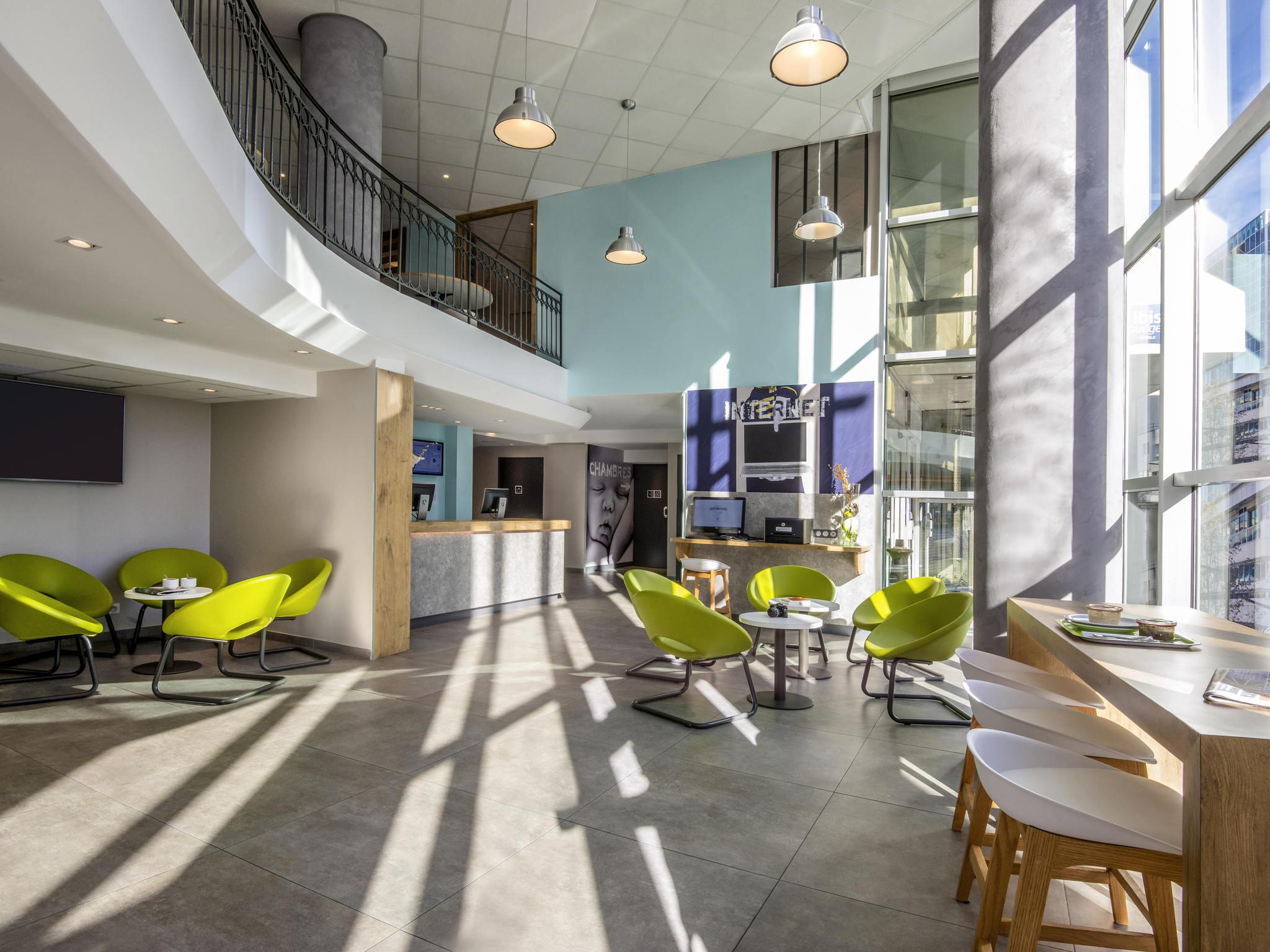 Hotell – ibis budget Nice Californie Lenval