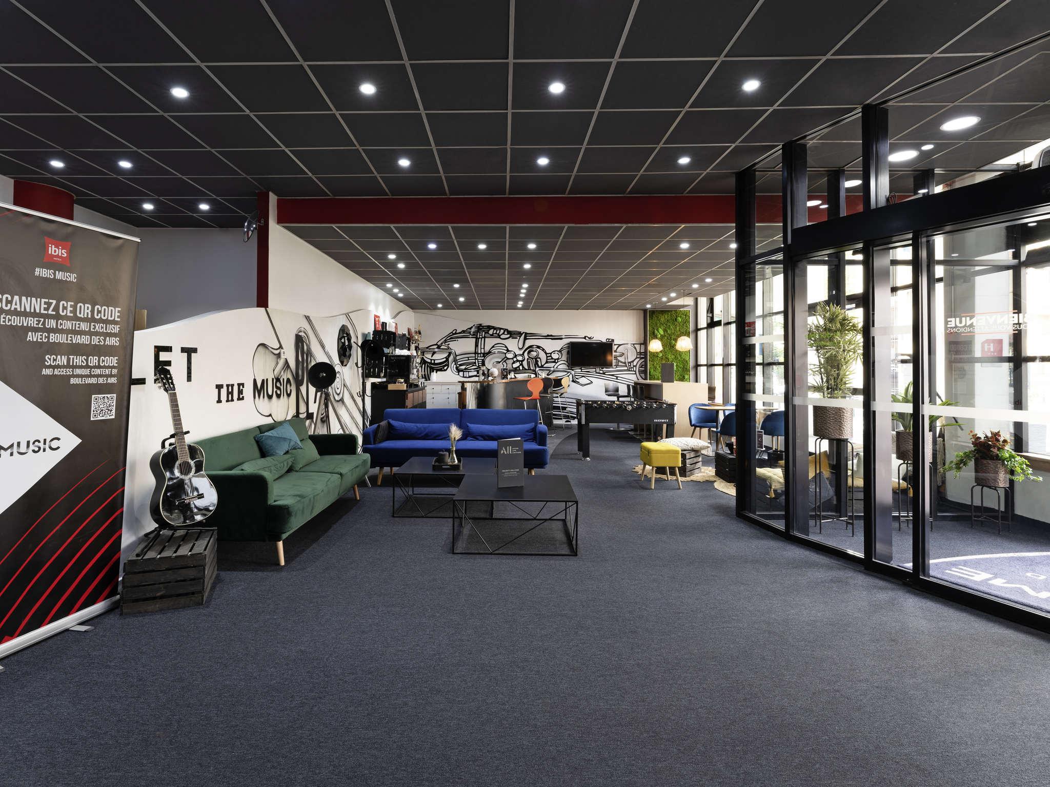 Hotel – ibis París Pantin Iglesia