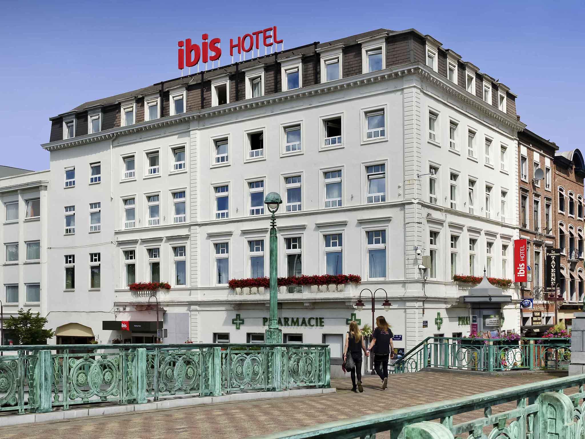 Hotell – ibis Charleroi Centre Gare