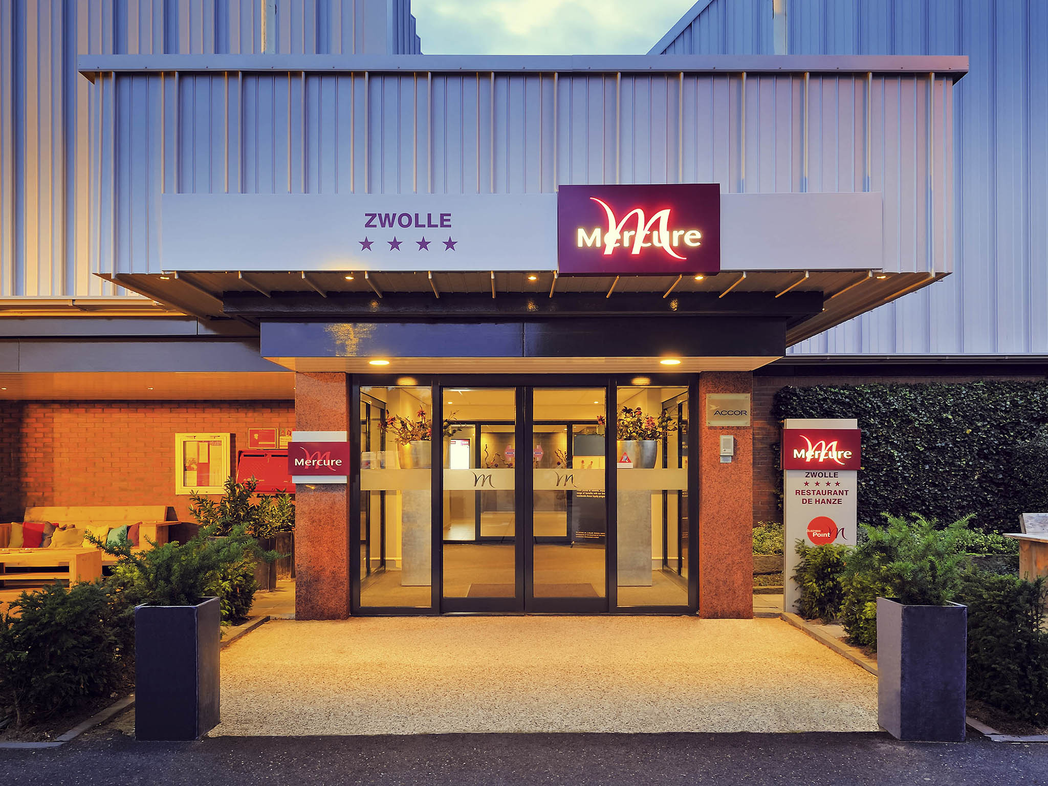 Отель — Mercure Hotel Zwolle